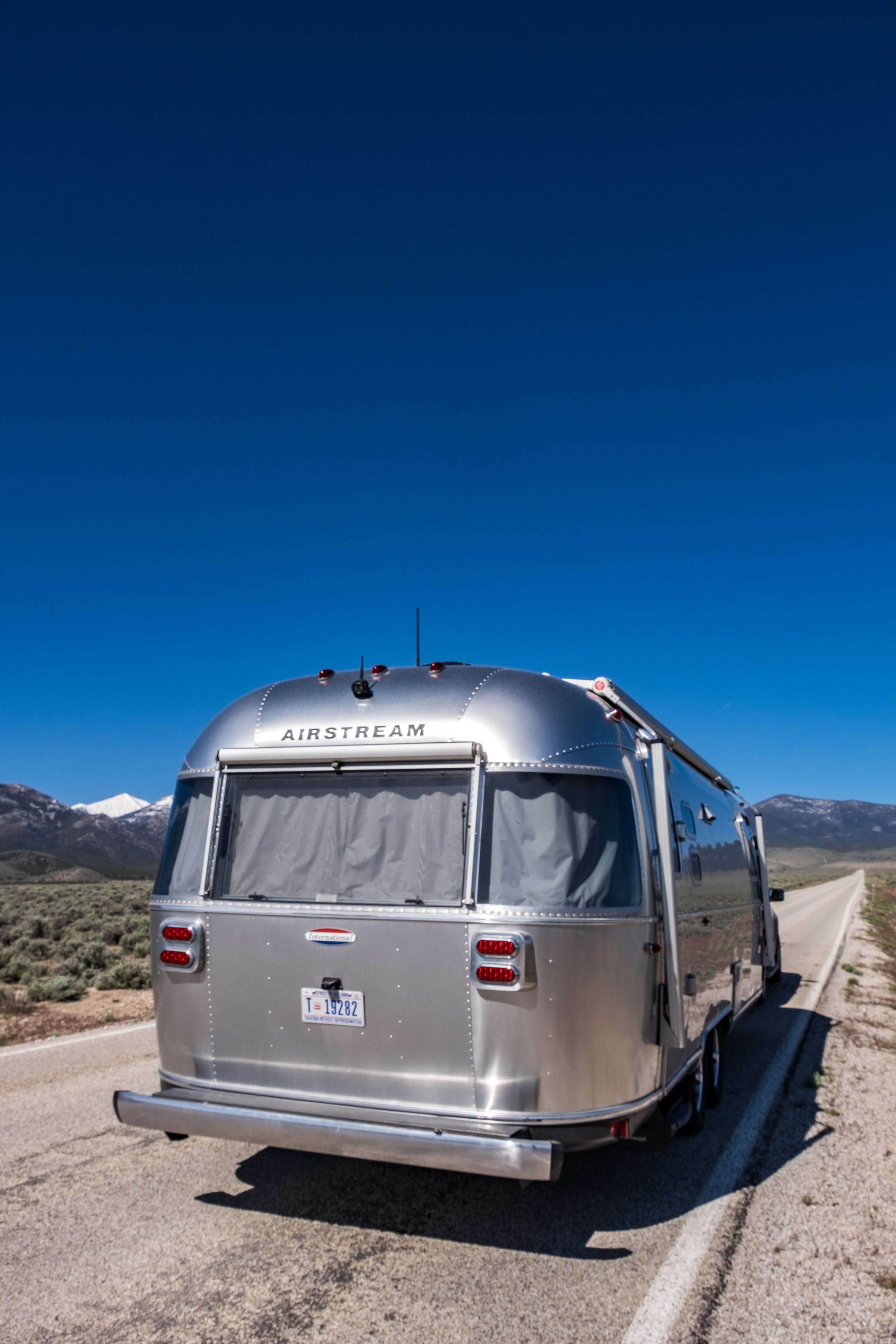 Wally entering Great Basin National Park in eastern Nevada.