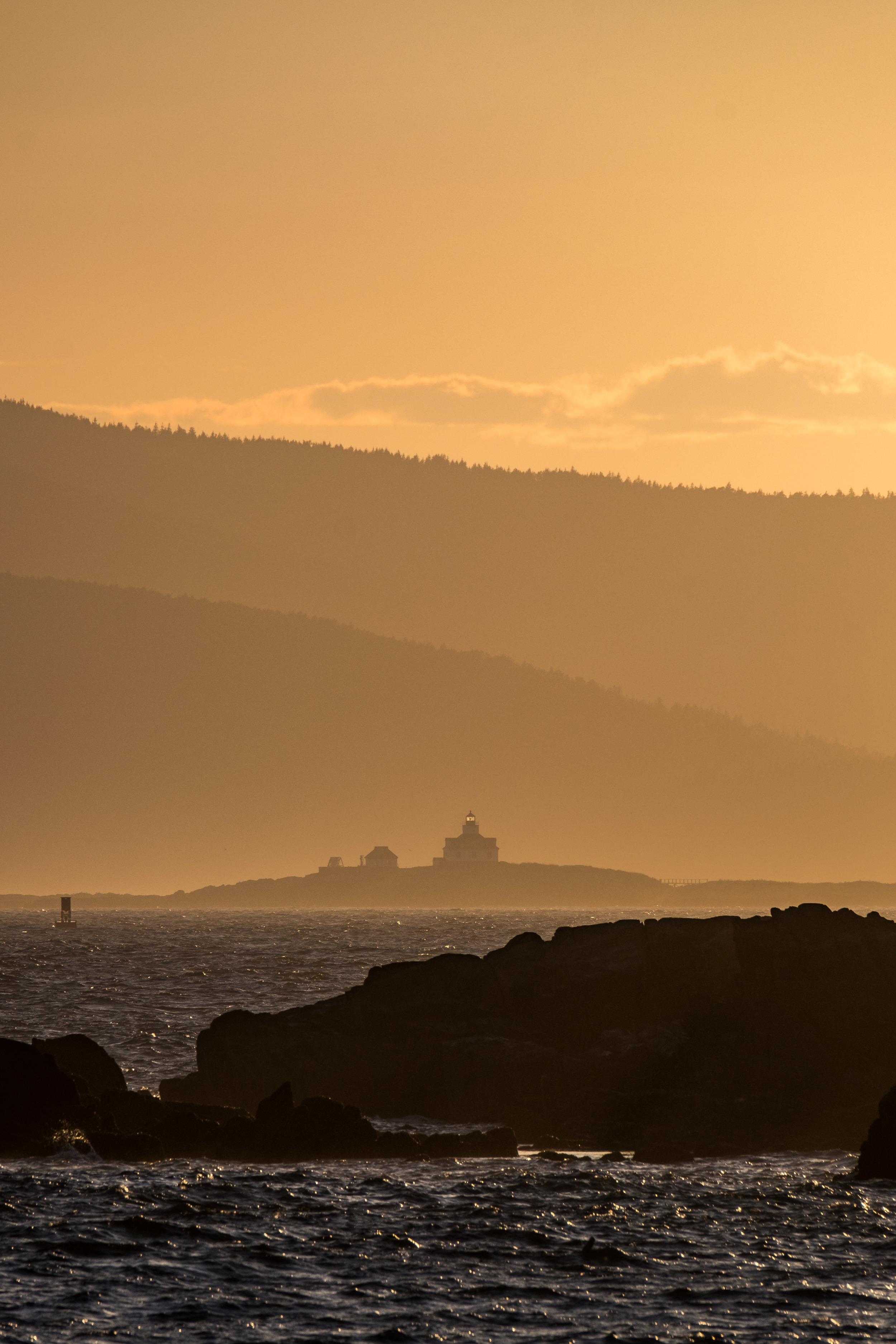 Head to the Schoodic Peninsula to wander quieter shores...