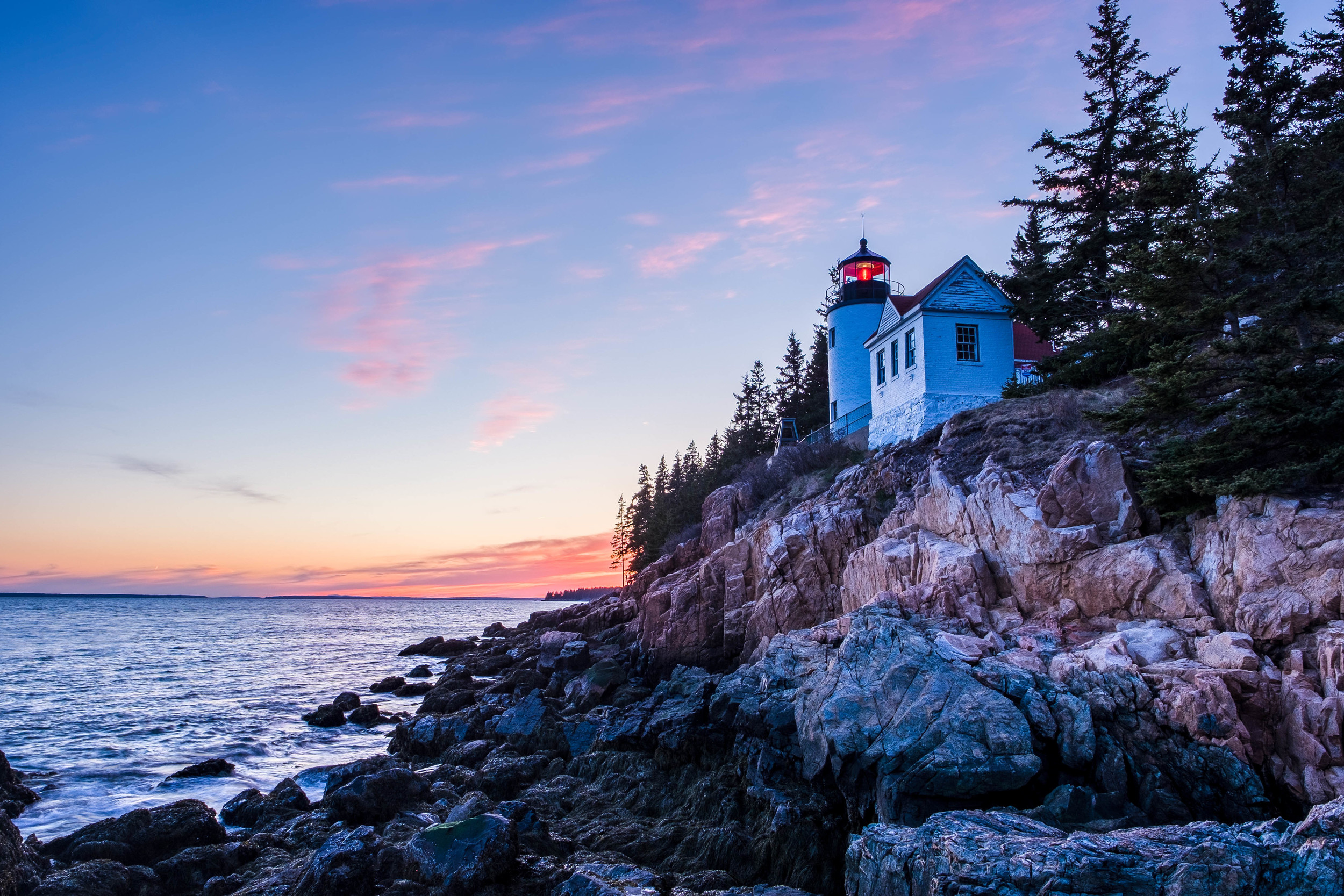 The iconic Bass Harbor Light House.