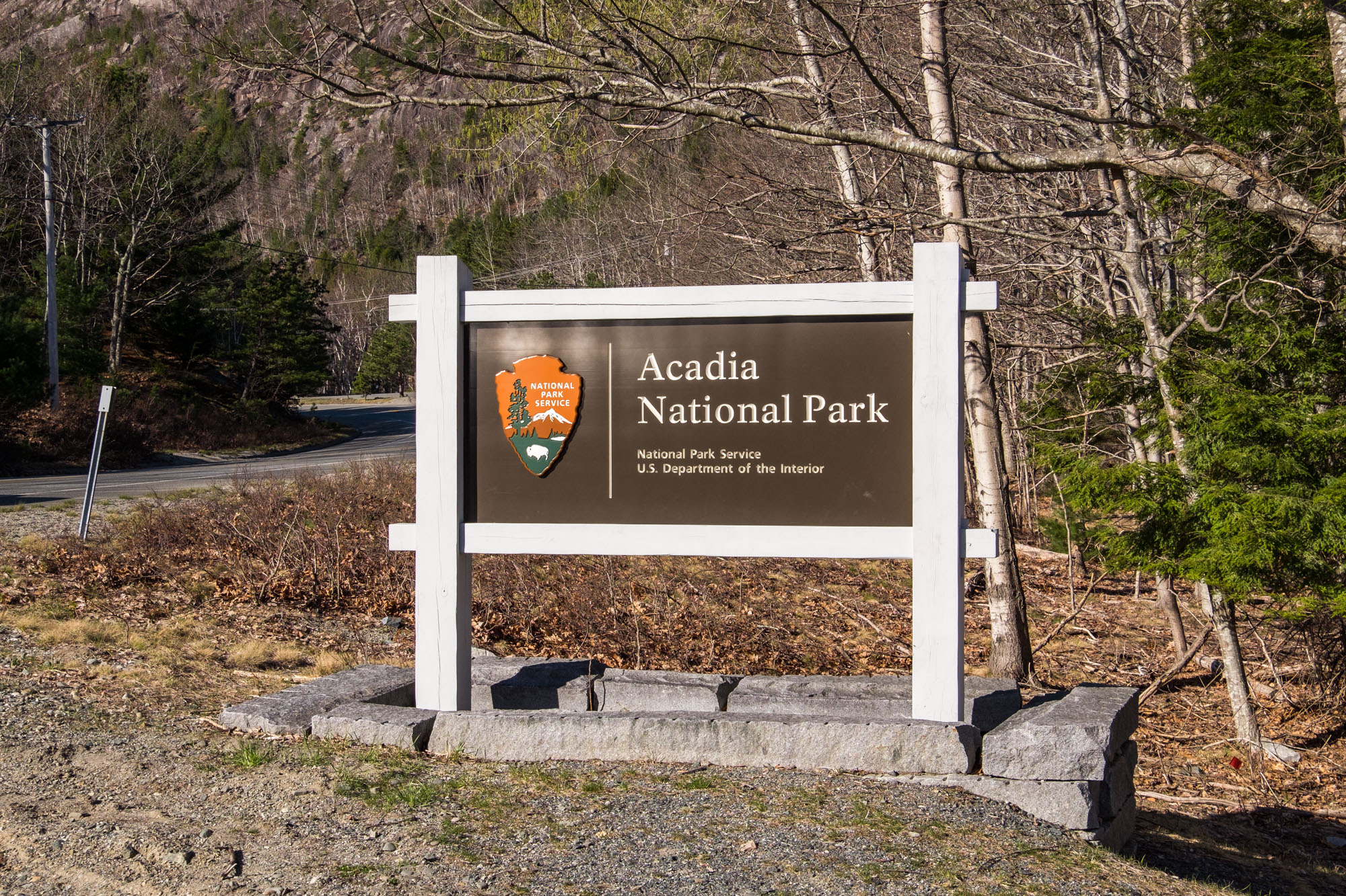 Acadia National Park! We were so happy to arrive here. We've been to Acadia before, and absolutely LOVE this park.