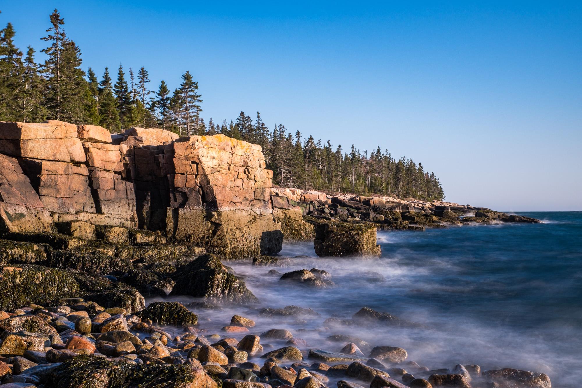 Same typical Maine rocky coastline...