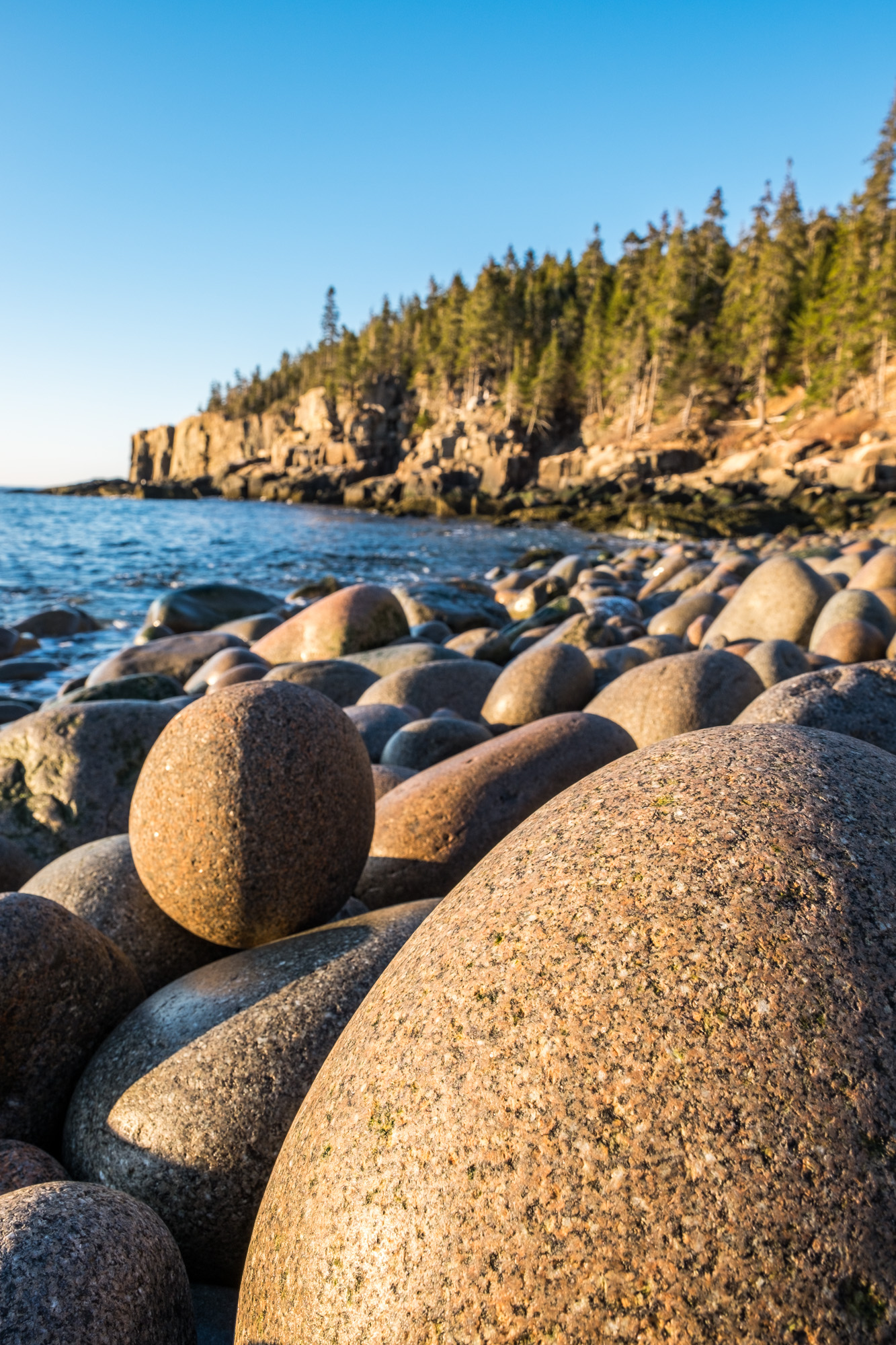 One of my favorite photo locations is Boulder Beach, located along the coastal trail.