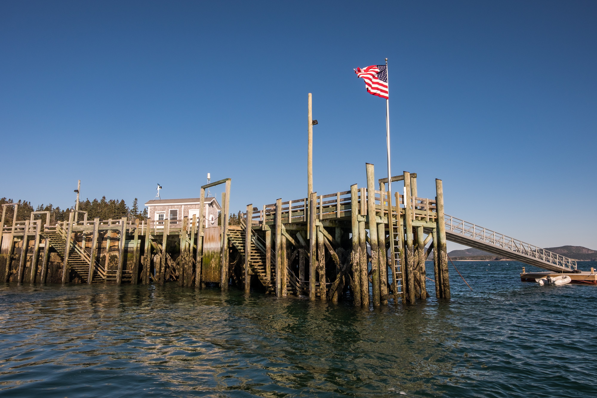 We took the boat ride out to the Cranberry Islands, just for fun.