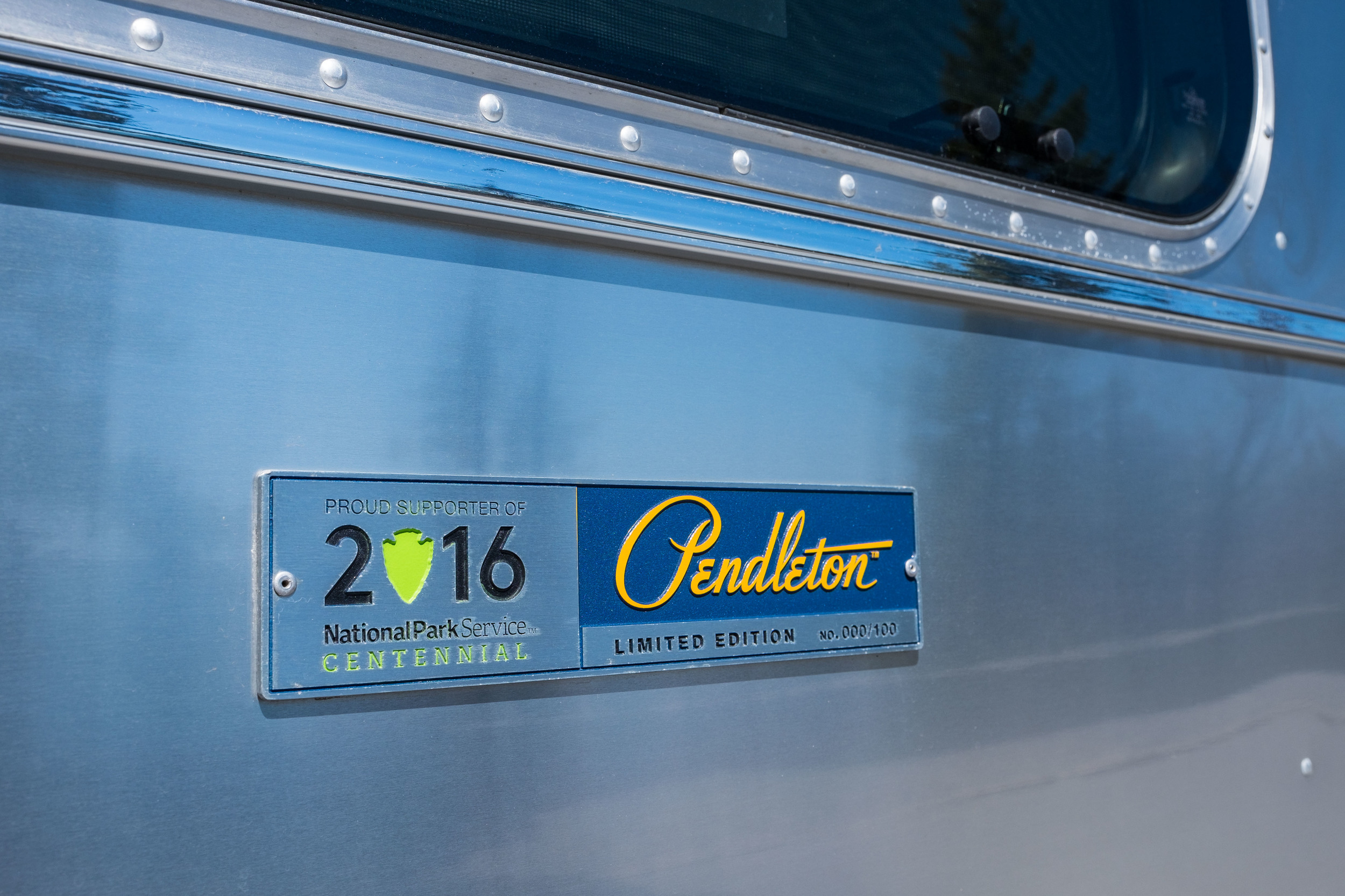 Only 100 were made of the Pendleton Limited Edition National Parks Airstream.