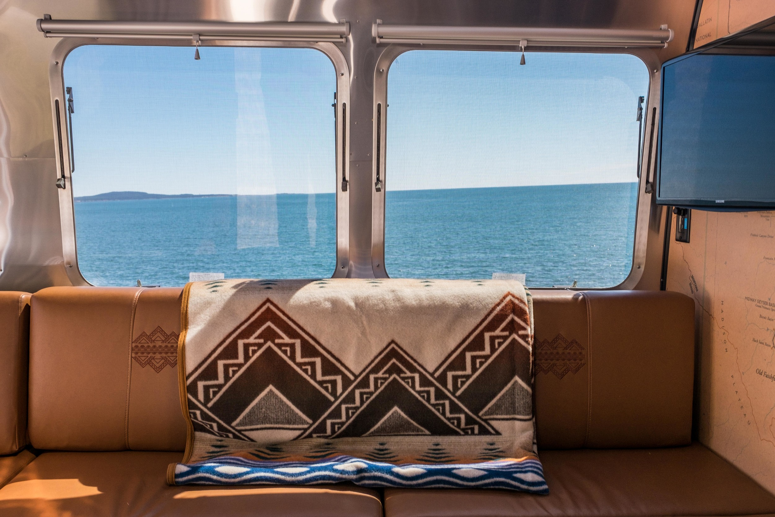Pendleton blankets are a work of art and are sold at most of the National Park Concessioner stores.
