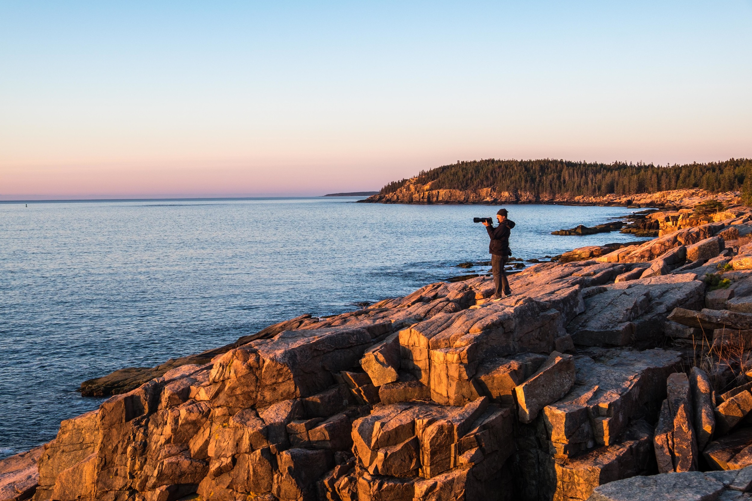 The coastline of Maine is a landscape photographers dream.
