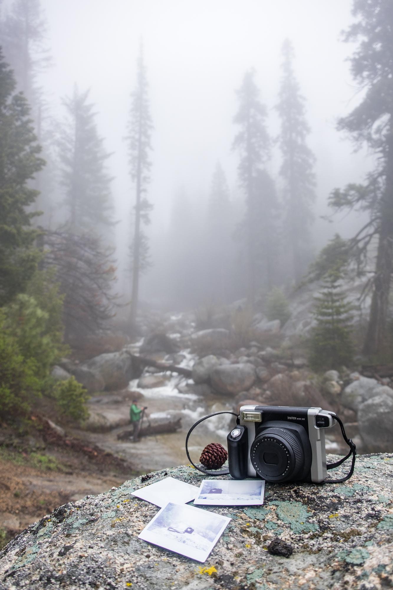 Our beloved Fujifilm Instax camera.