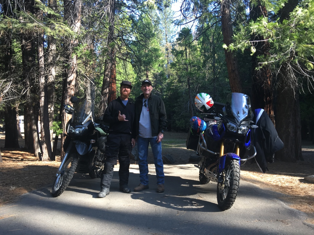 Met some friends along the road in Kings Canyon...