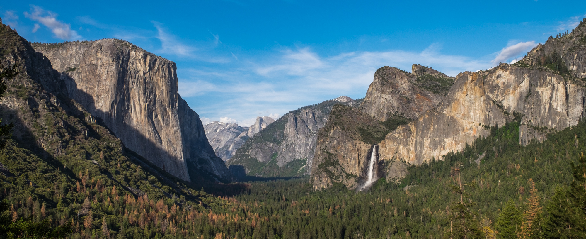 Our first stop was at the iconic Tunnel View lookout. It never disappoints.