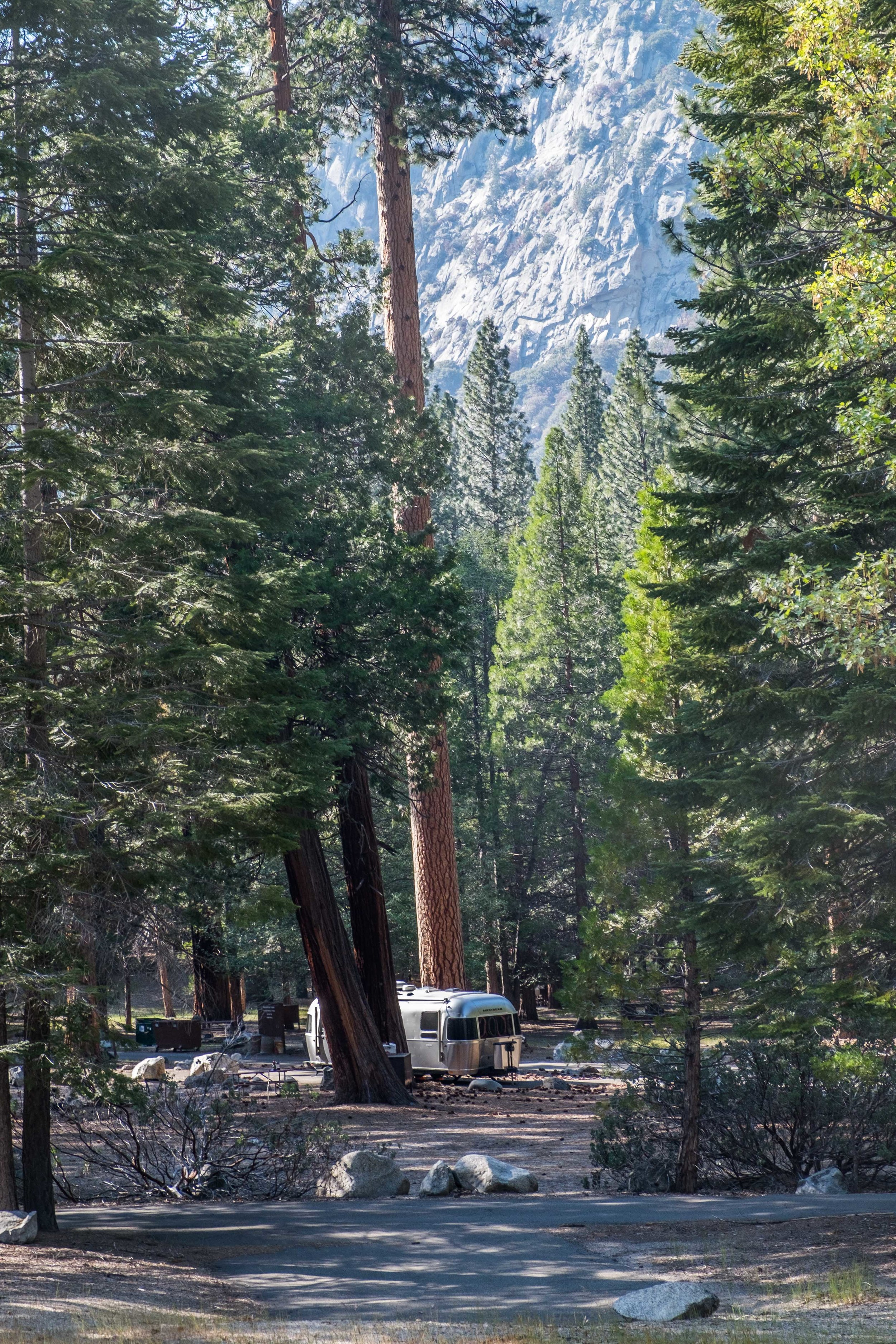 The Sentinel Campground at Kings Canyon National Park in California.