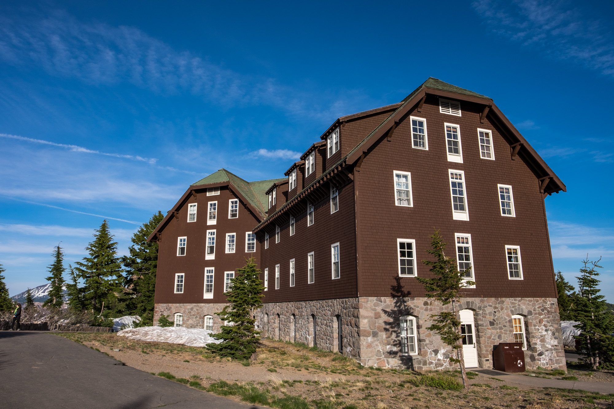 The Crater Lake Lodge is a classic, historic National Park Lodge that is 101 years old -- older than the Park Service!