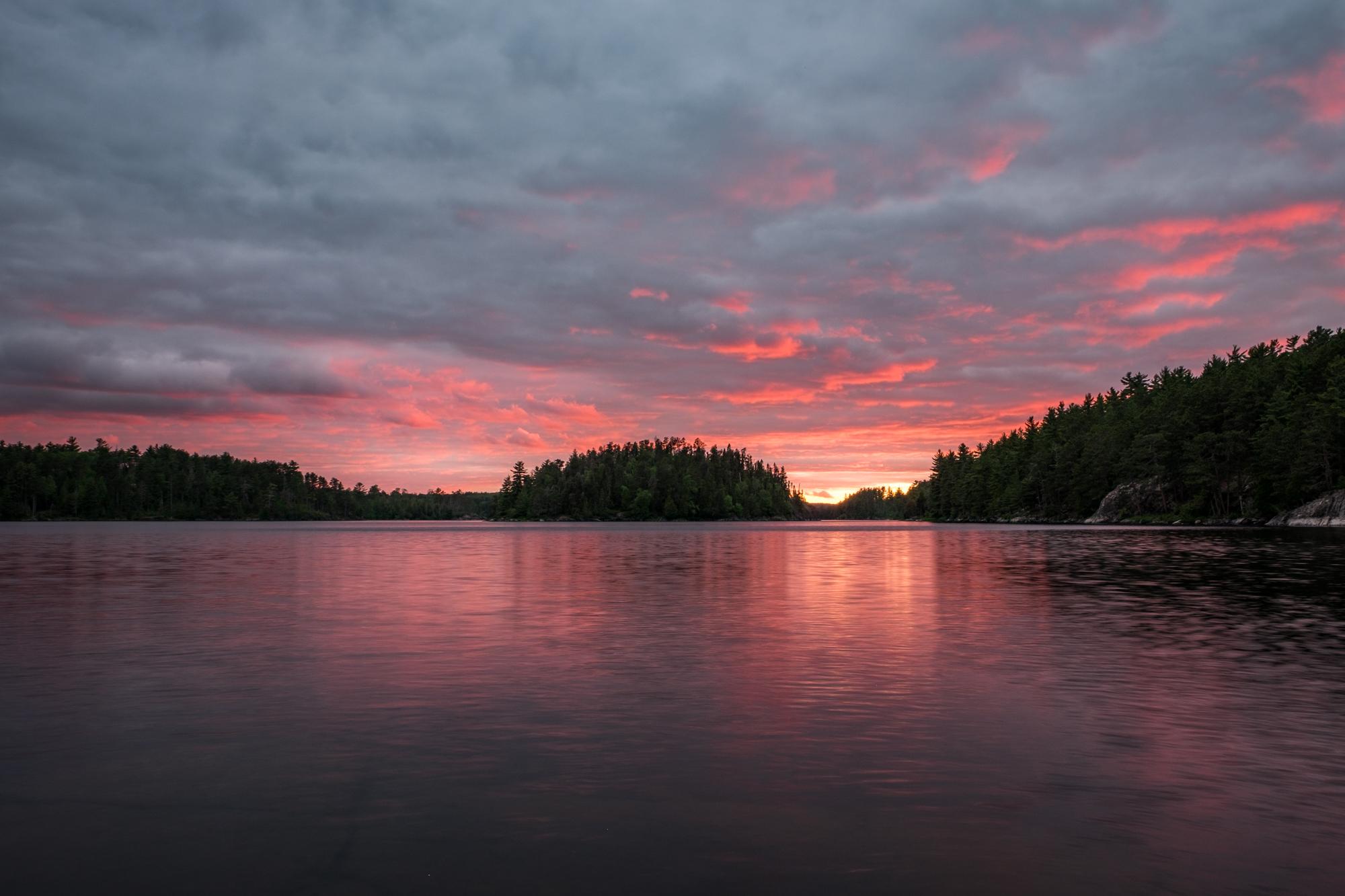 Surreal sunset.