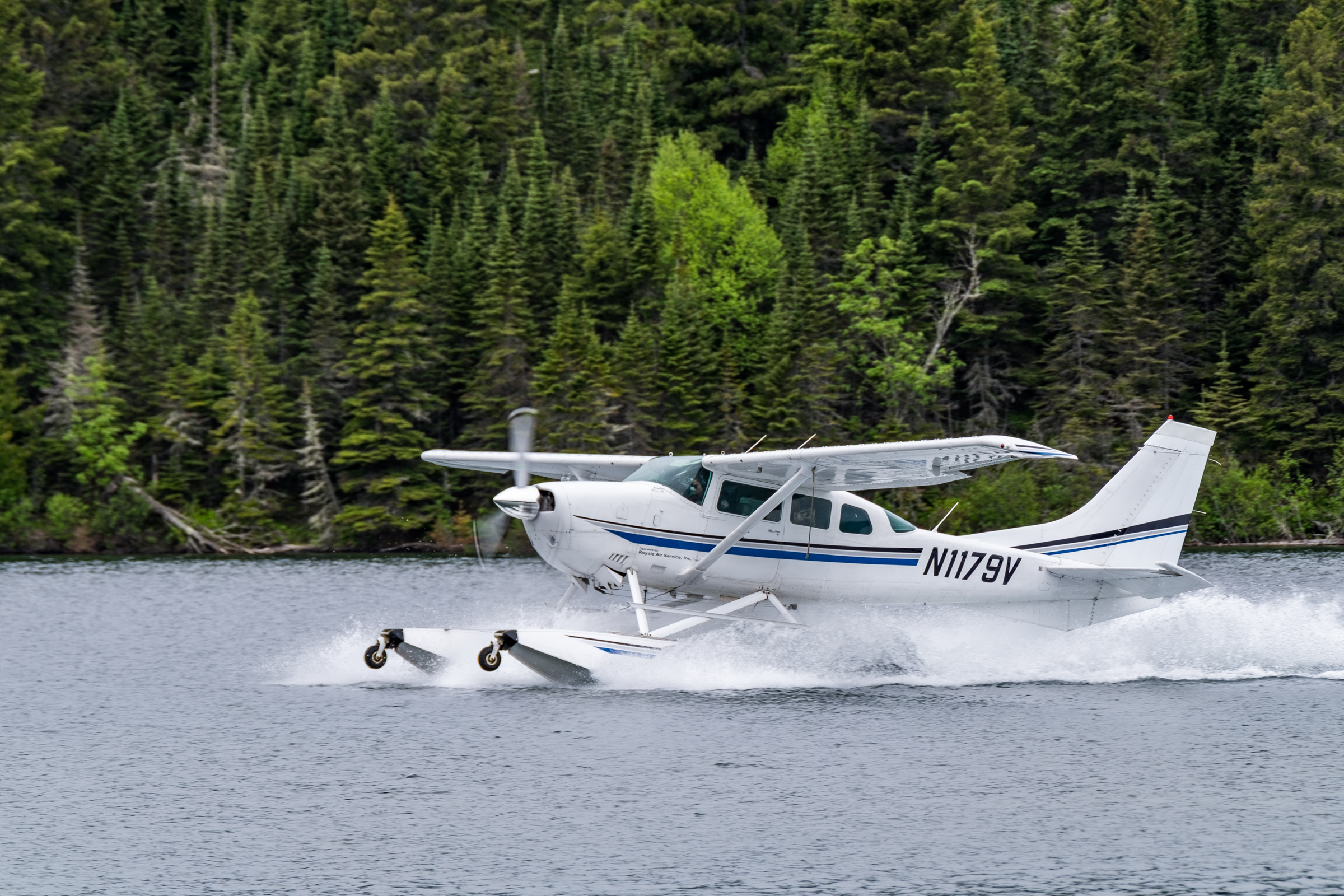 Our ride to Isle Royale with Isle Royale Seaplanes.