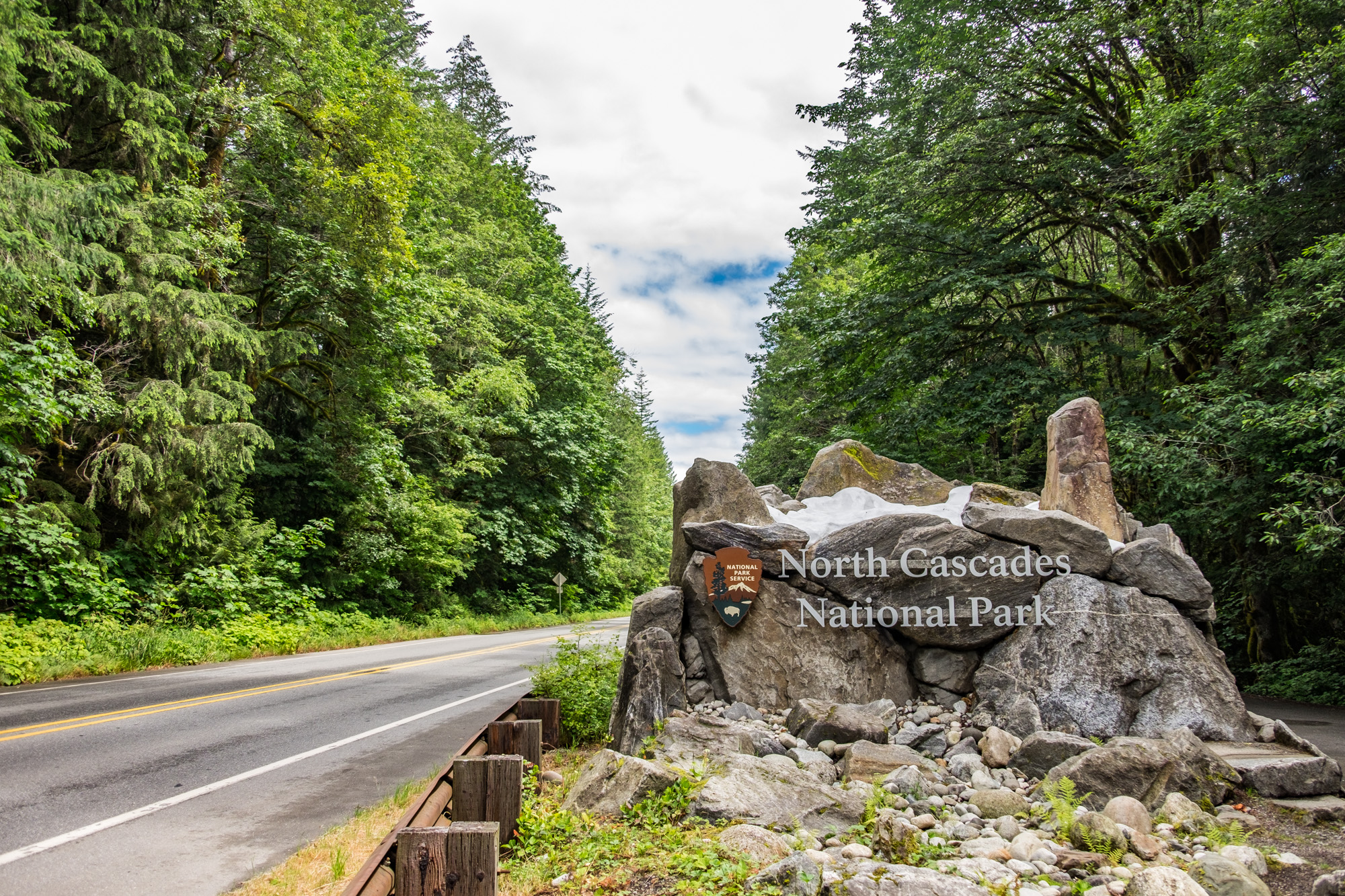 We love Washington state and were so excited to start exploring North Cascades National Park.