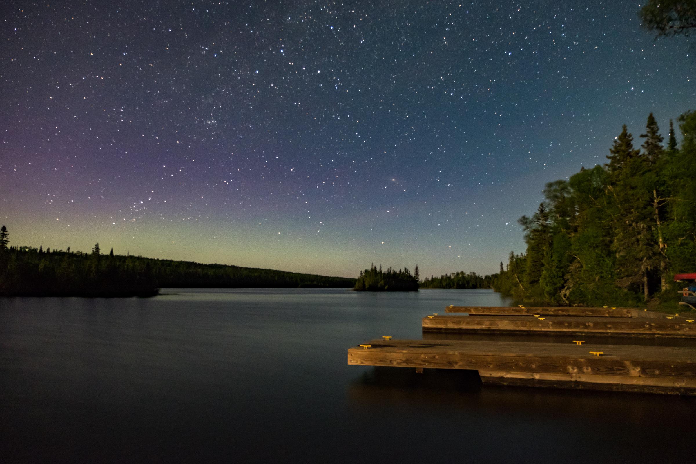 Star stuff in Isle Royale in Michigan.