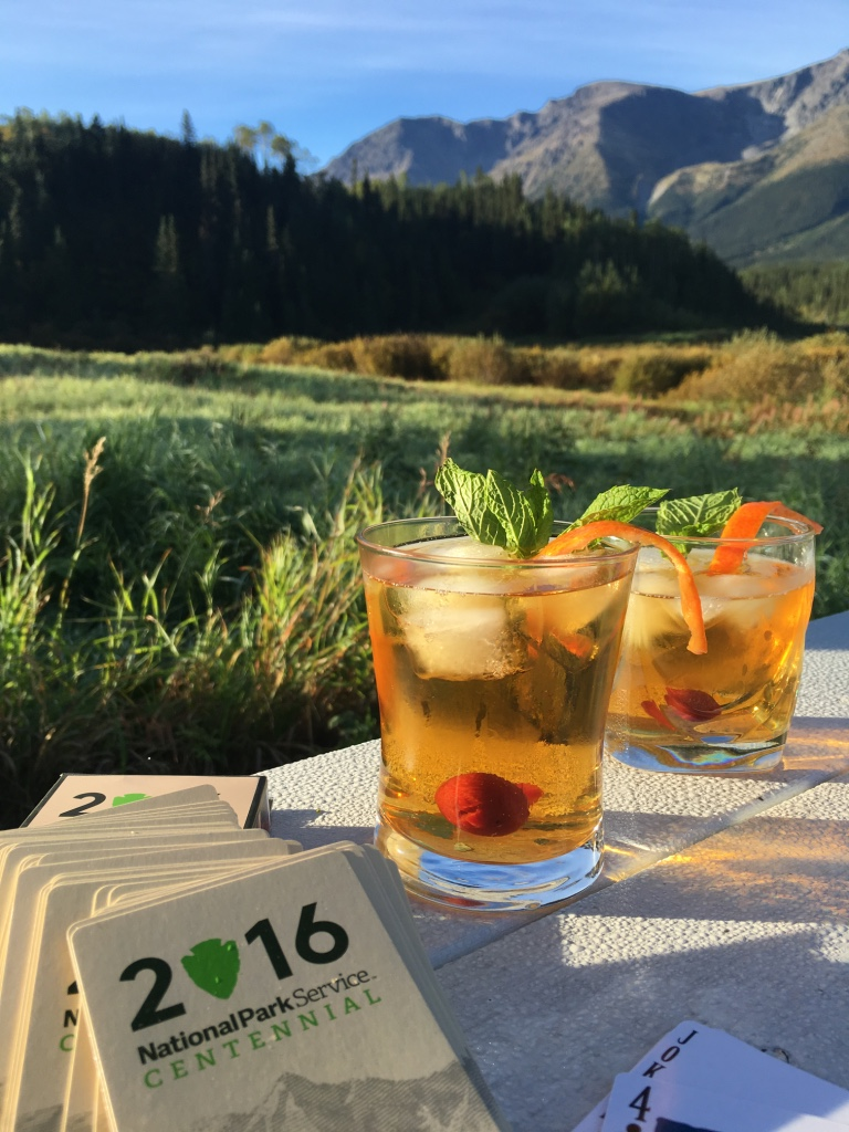For the 100 year anniversary of the National Park Service on August 26, we designed a drink to commemorate the occasion: The Centennial Cocktail. (Recipe:http://www.thegreatestroadtrip.com/extras/2016/8/25/the-centennial-cocktail)