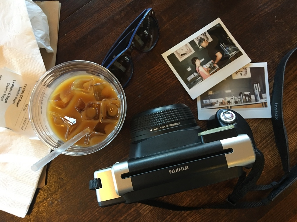 Real coffee and Instax in PDX. <3