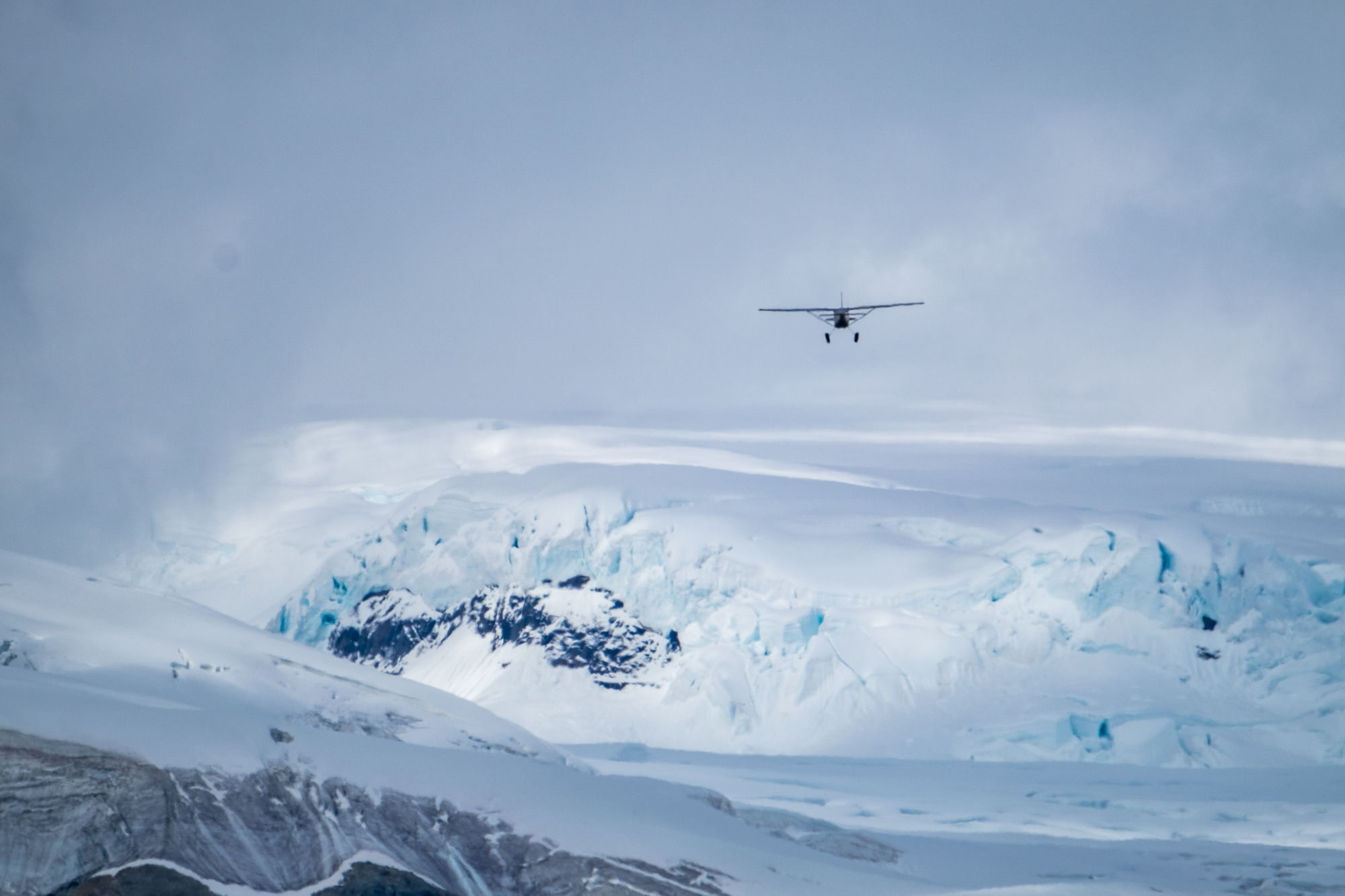 Flightseeing in Wrangell St. Elias National Park with Wrangell Mountain Air.
