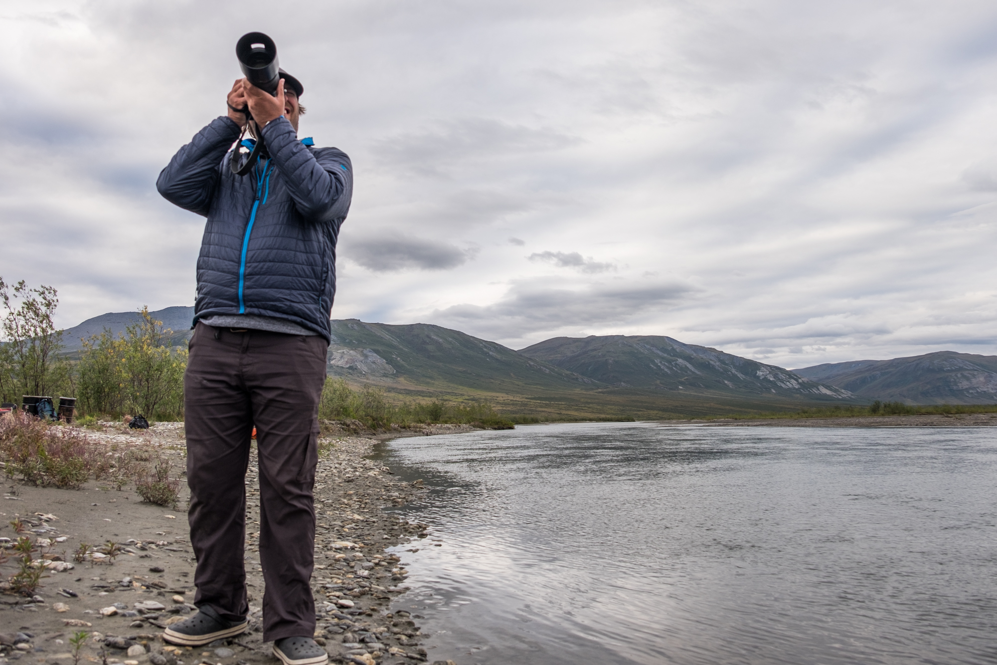 Birdwatching in Gates of the Arctic.