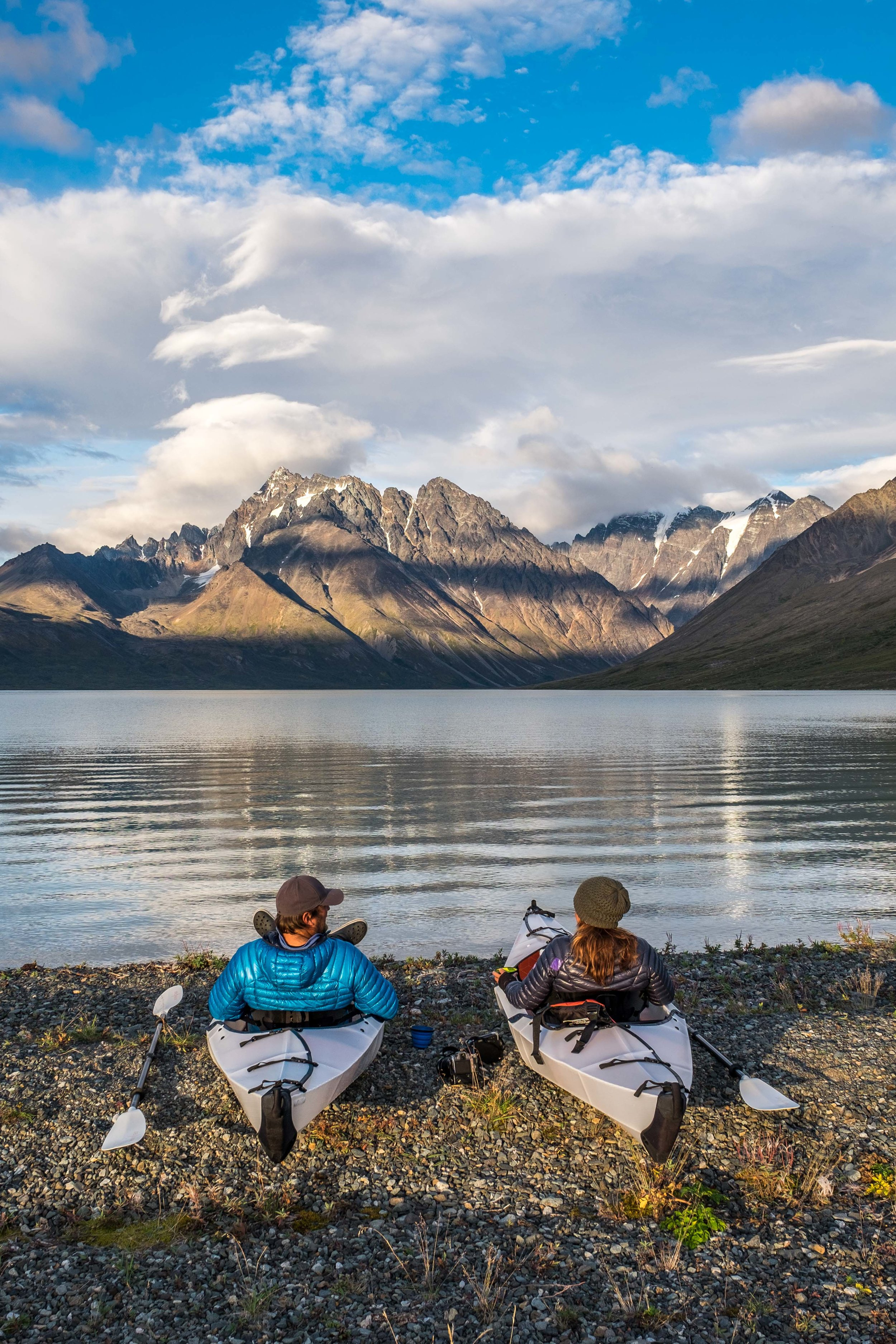 Date night in Lake Clark backcountry.