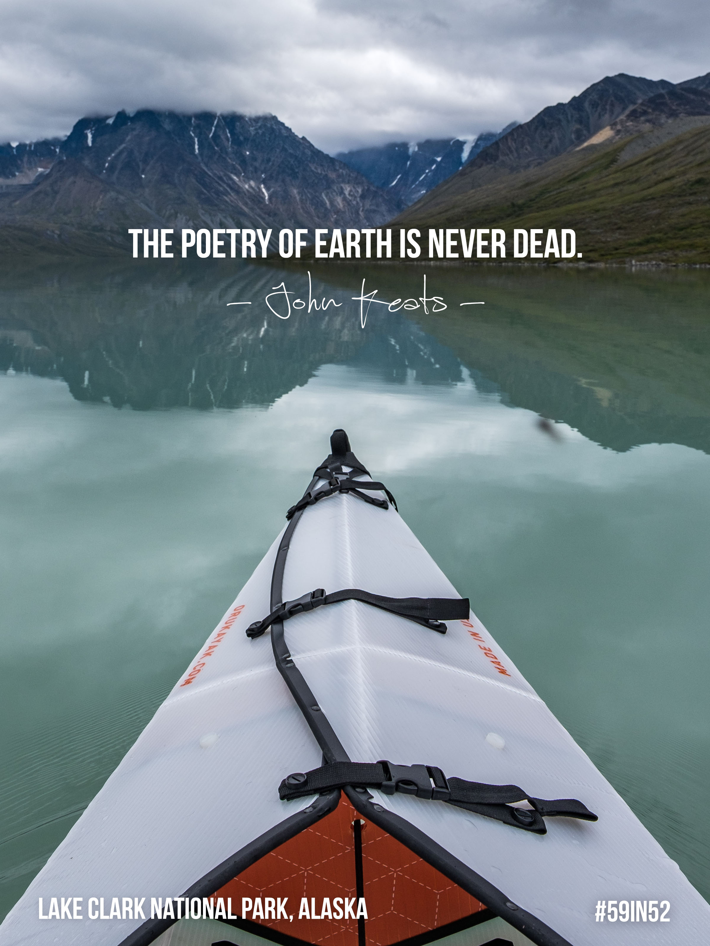 """The poetry of Earth is never dead."" - John Keats"