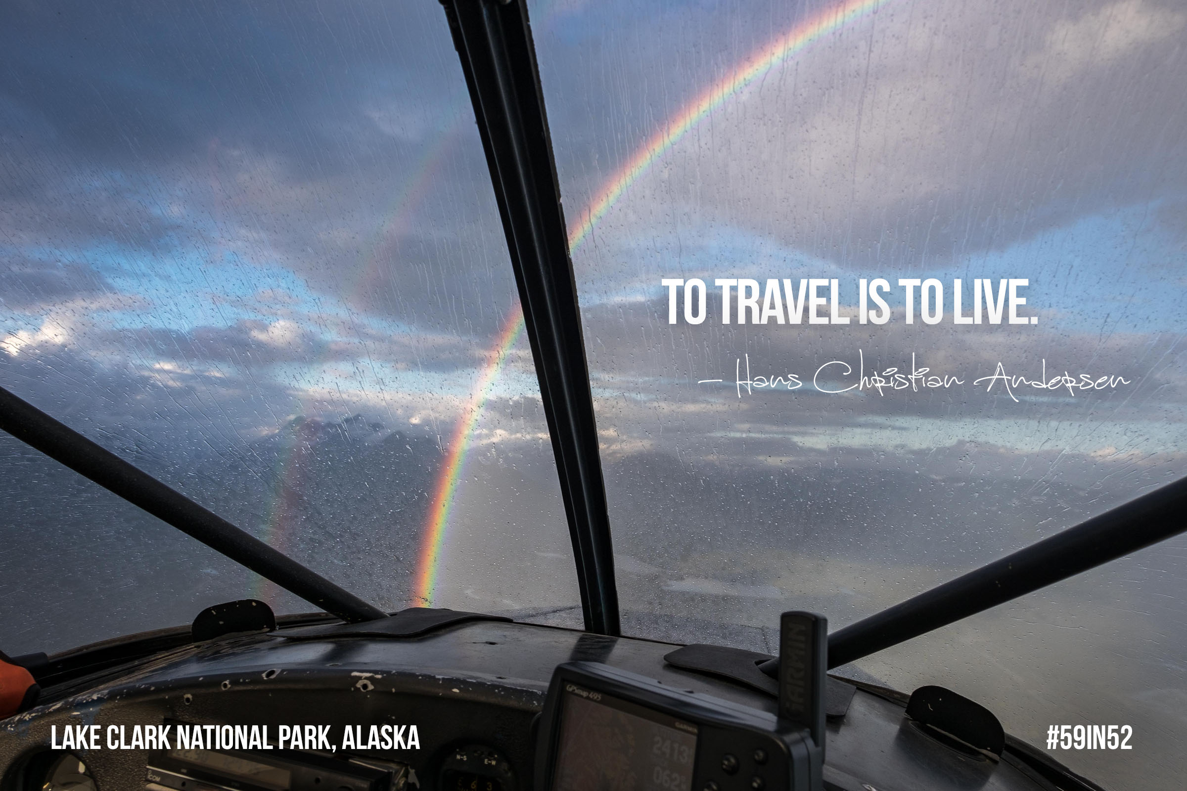 """To travel is to live."" - Hans Christian Andersen"