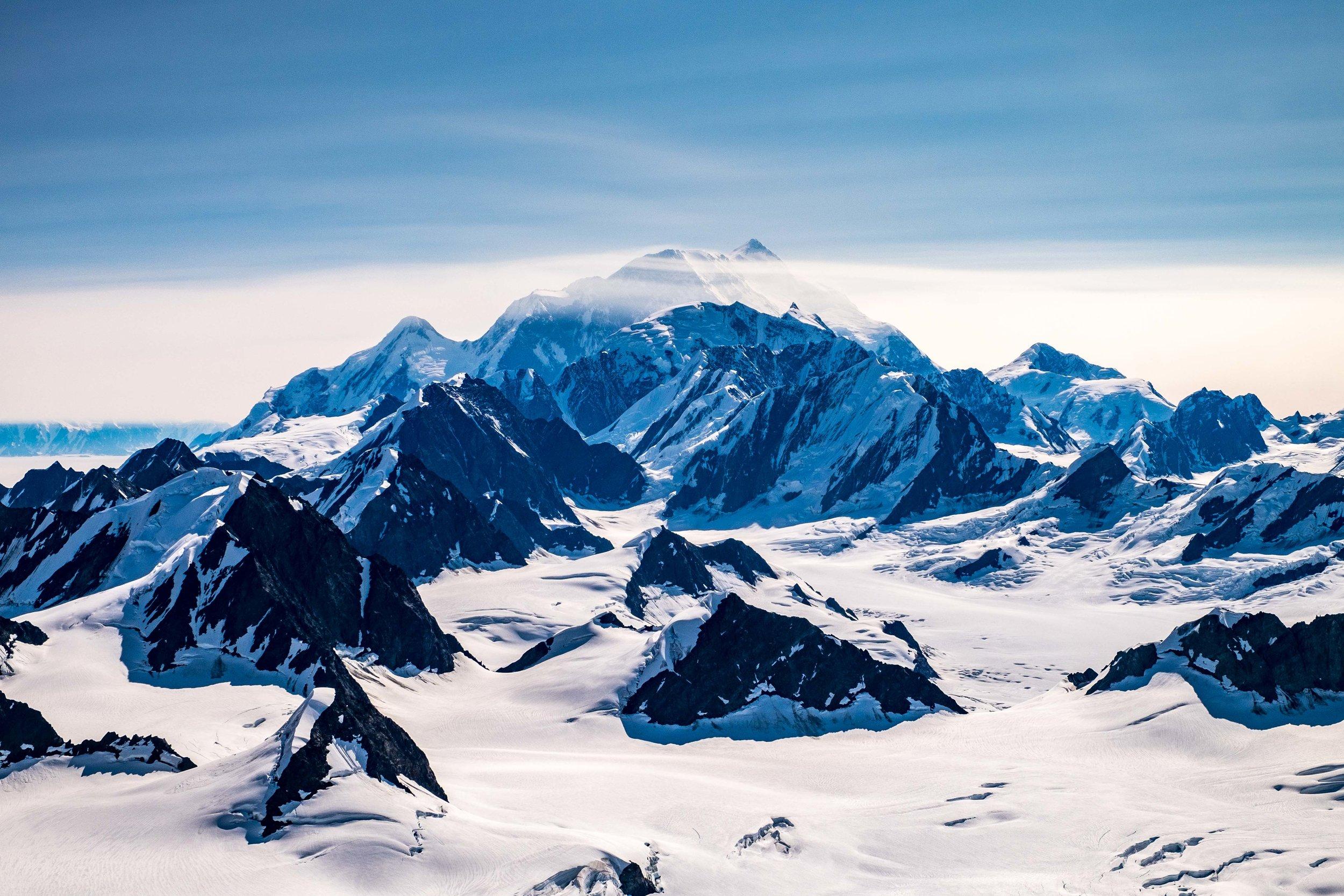 St Elias mountain...the namesake of the park.