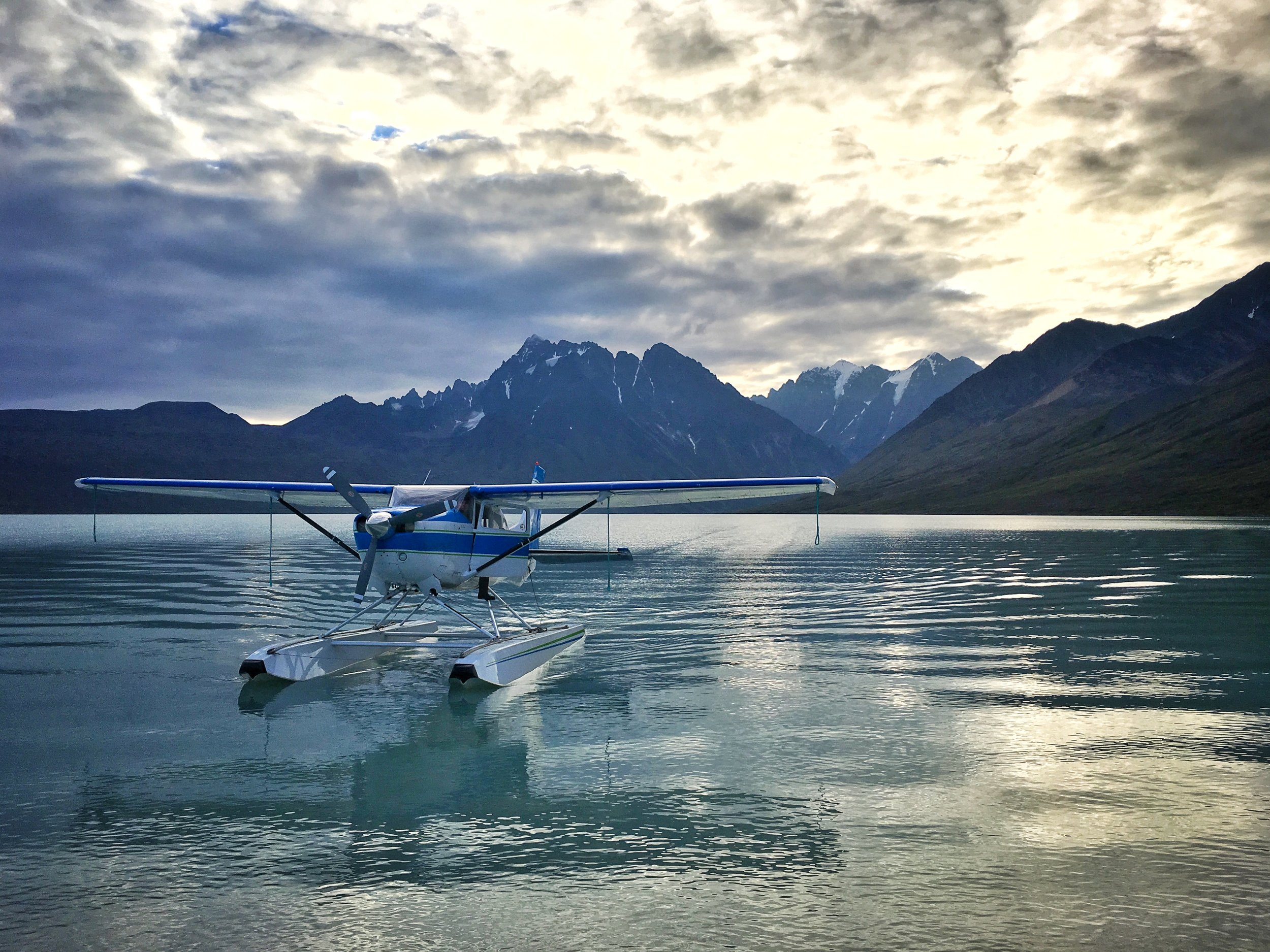 Our ride out of backcountry in Lake Clark National Park in Alaska. Photo credit: Stefanie Payne
