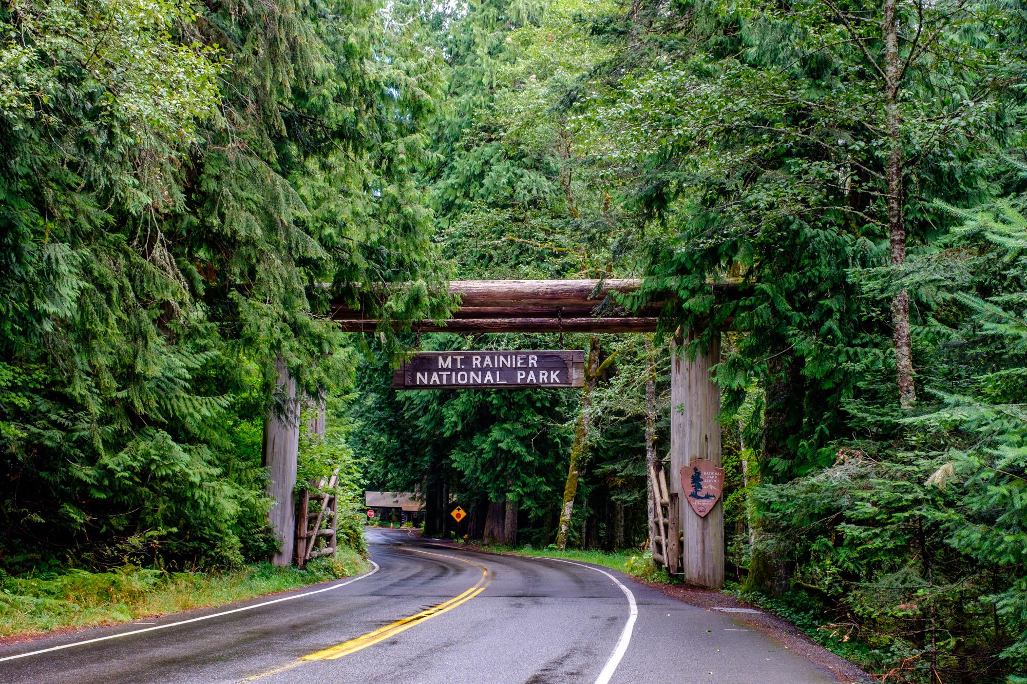 Mount Rainier National Park....park number 39 of 59!
