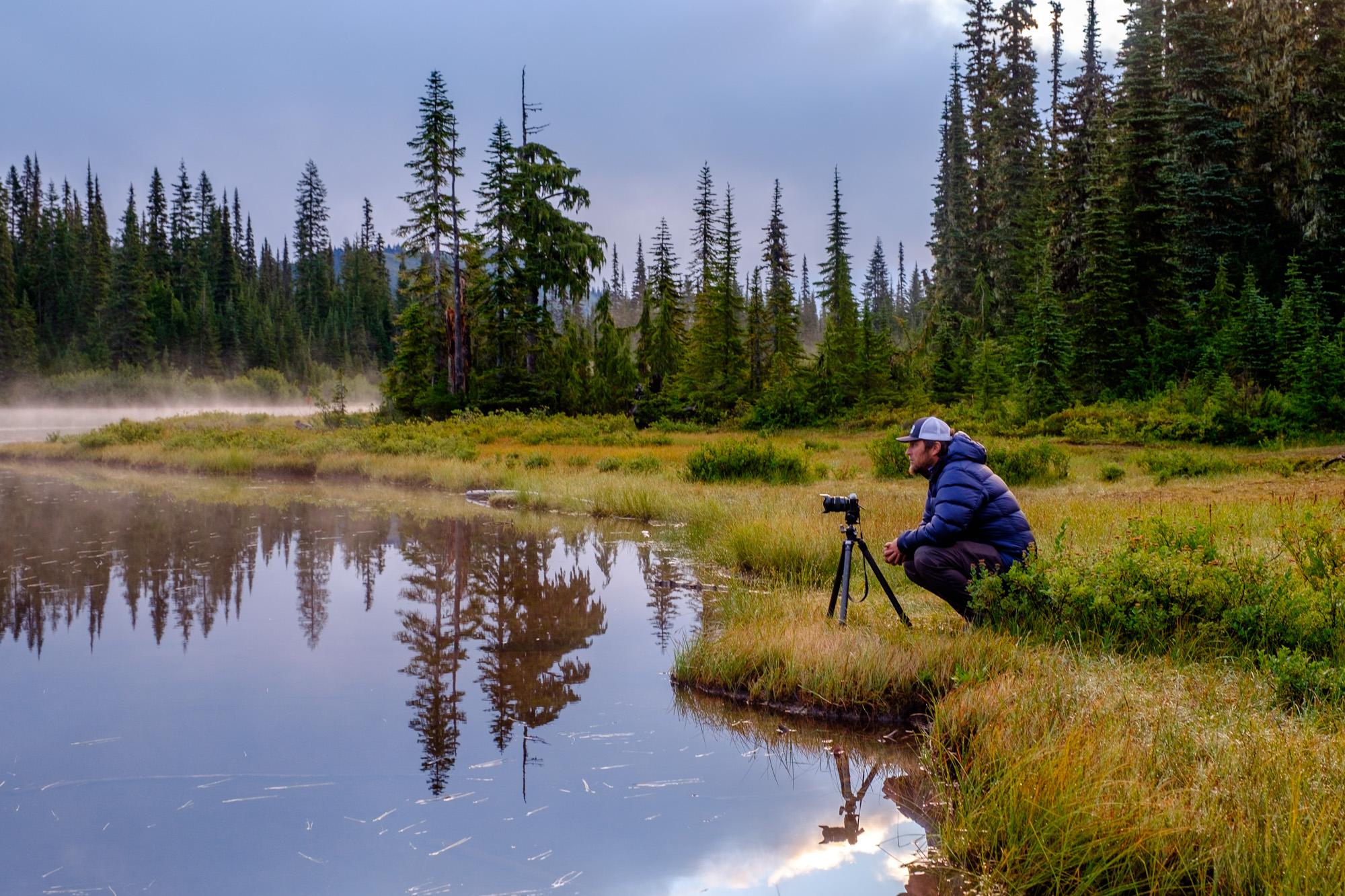 A photographer's life.