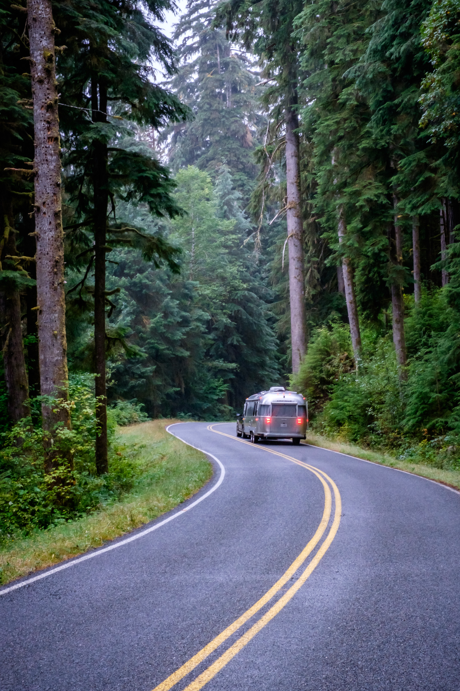 Wally, take us to Sol Duc Falls.