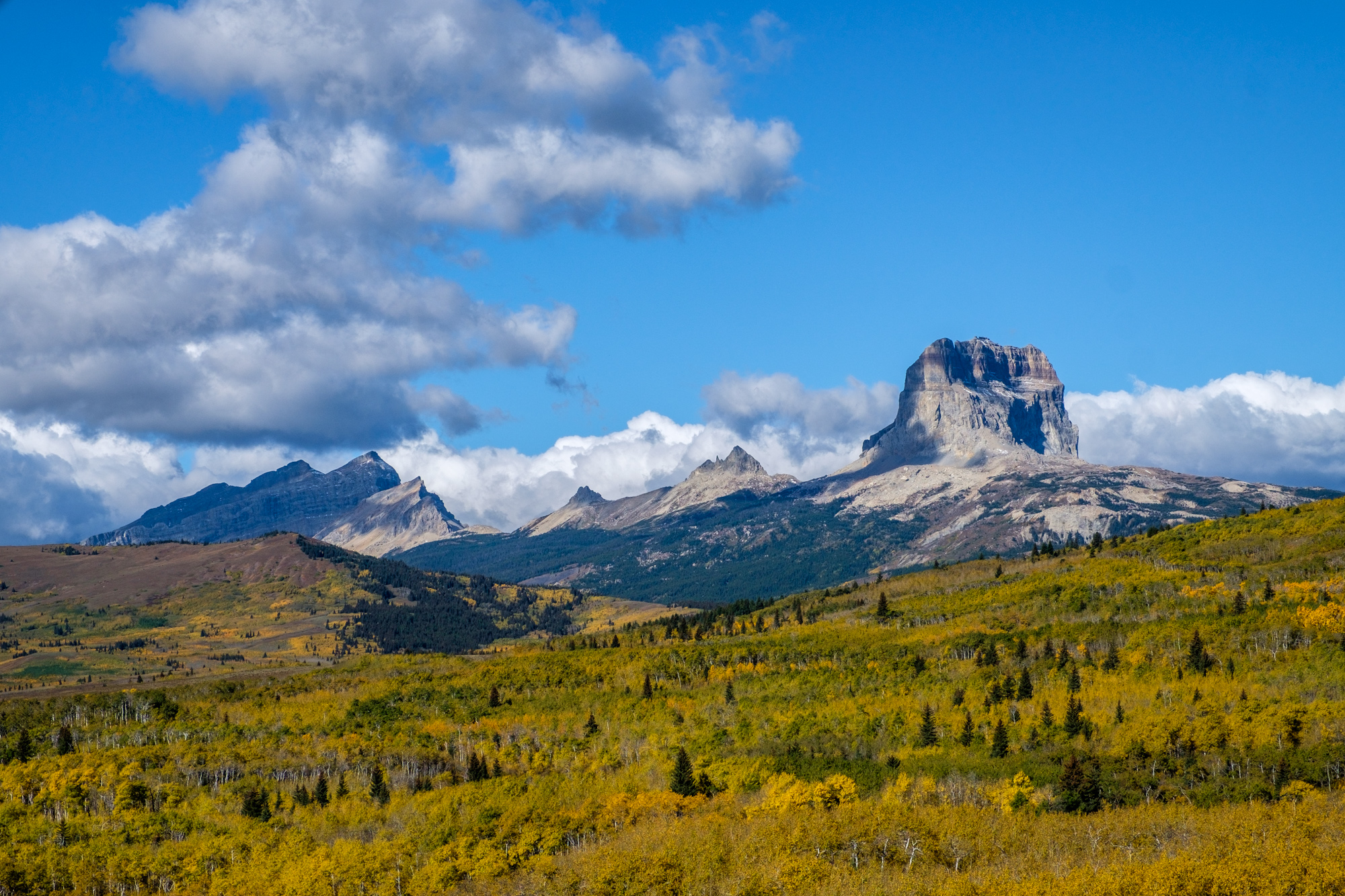 Chief Mountain is a sacred mountain to the Blackfeet tribe.