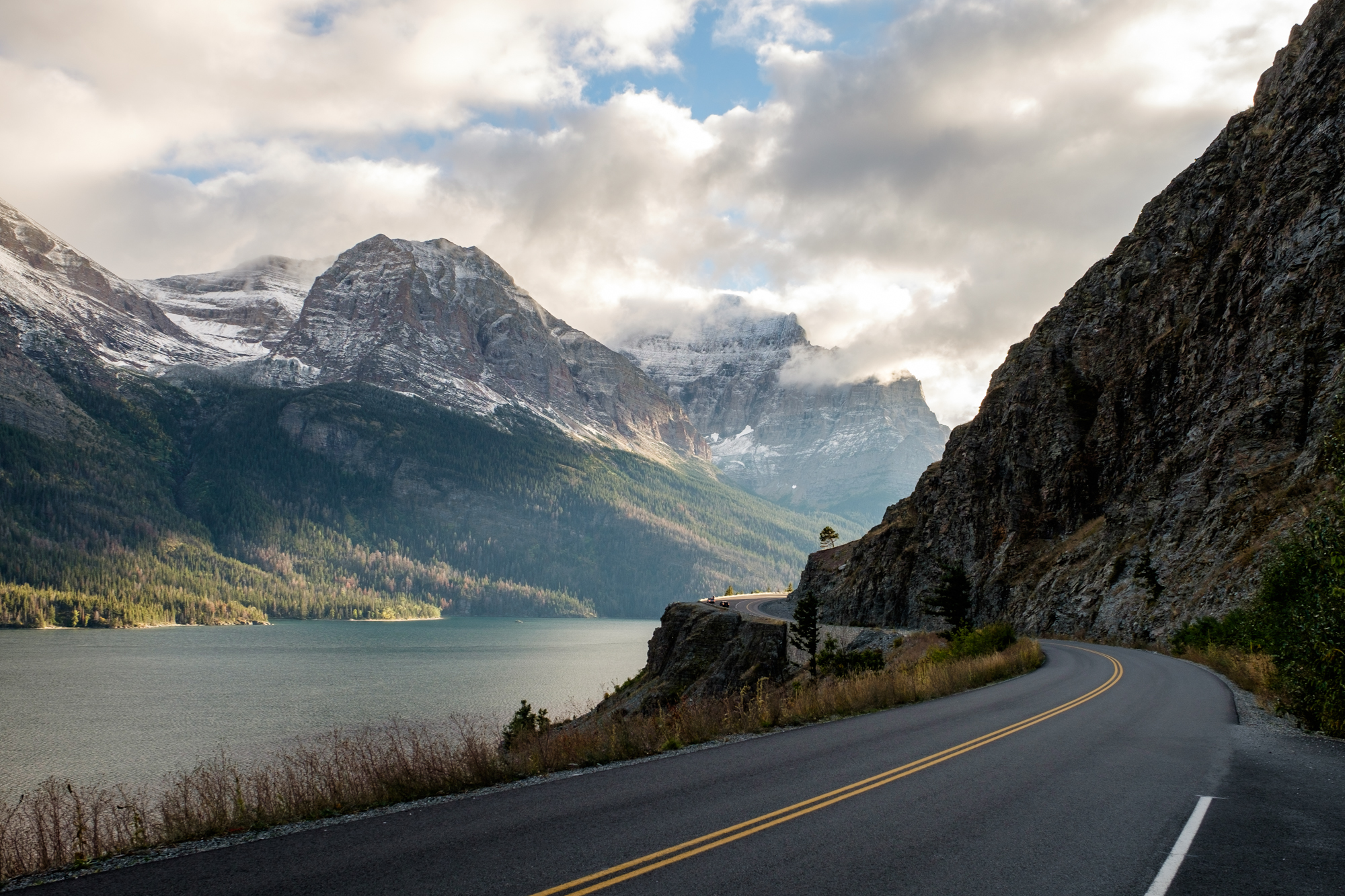 Going-to-the-Sun Road is the most popular draw in Montana's Glacier National Park.