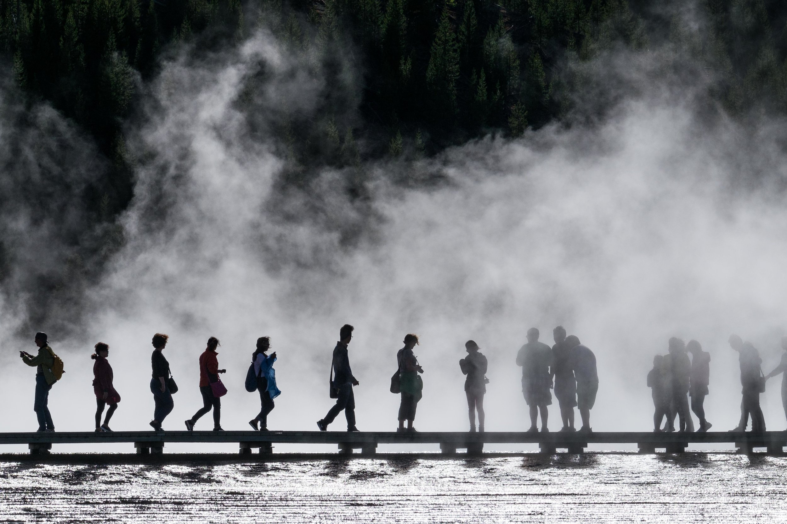 The Grand Prismatic Spring can be a busy place, but that should never deter you from visiting.