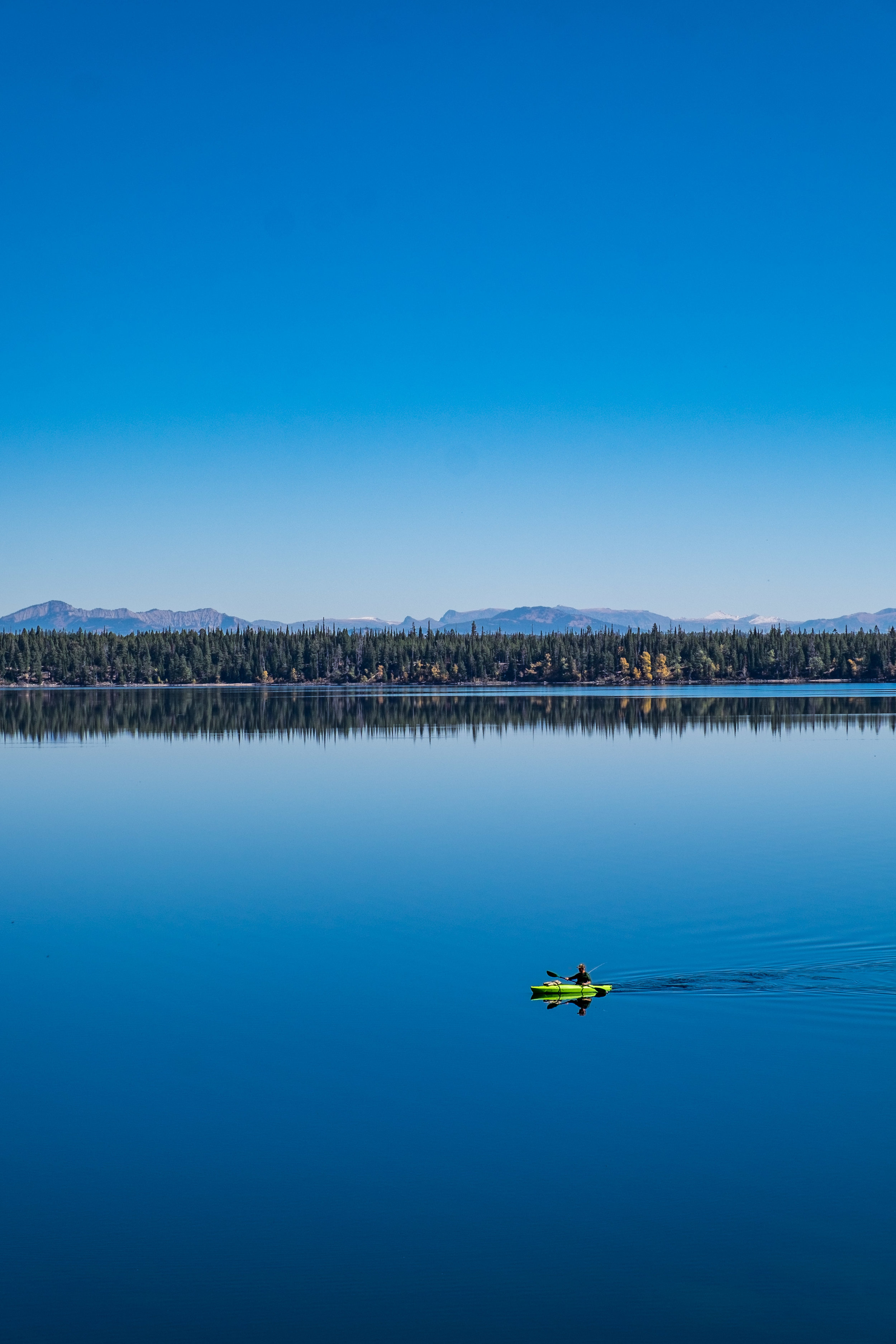 Jenny Lake is a great place for kayaking as well.