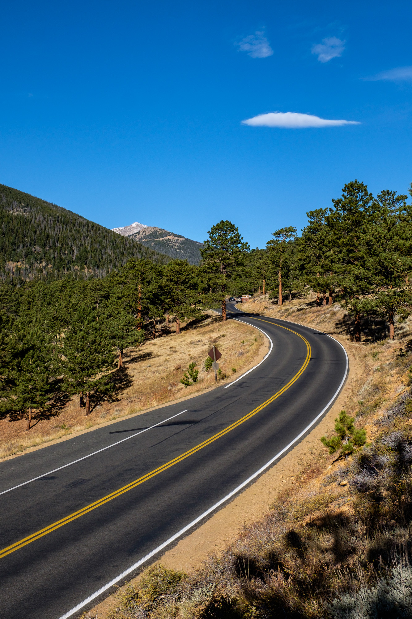 Cruising the park on beautiful scenic byways.