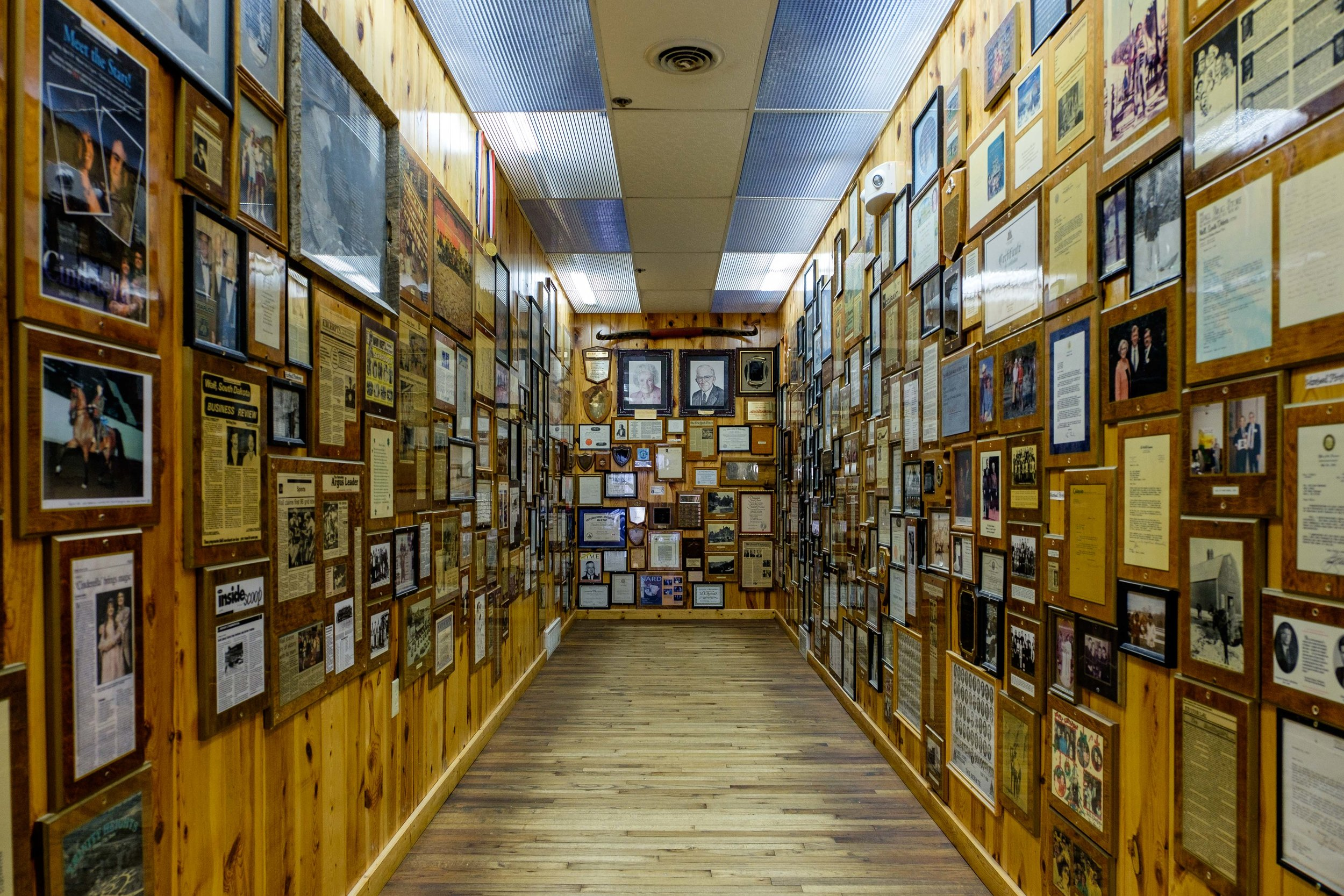 Wall Drug is a place of legend and a glimpse through time. Stef's grandma used to paint murals on the walls outside of the store!