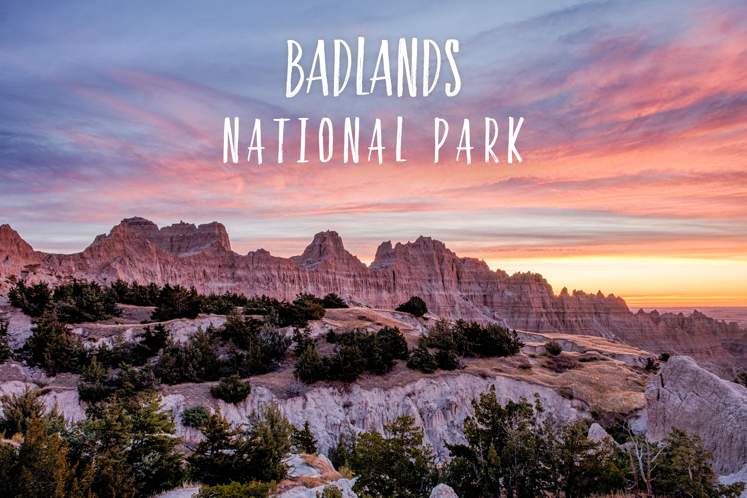 Park 44/59: Badlands National Park in South Dakota
