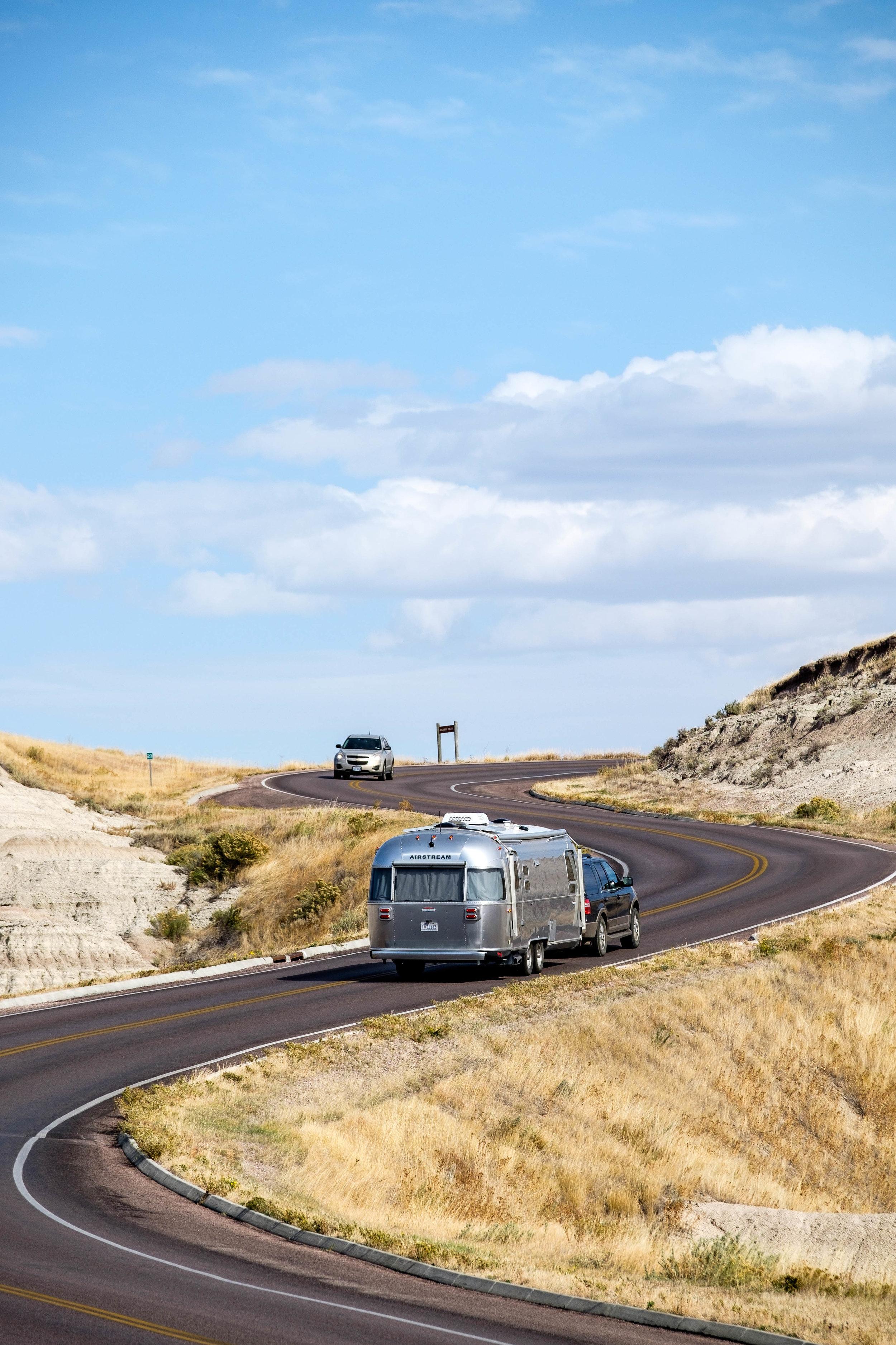 Badlands Park Loop Road in Badlands National Park in South Dakota.