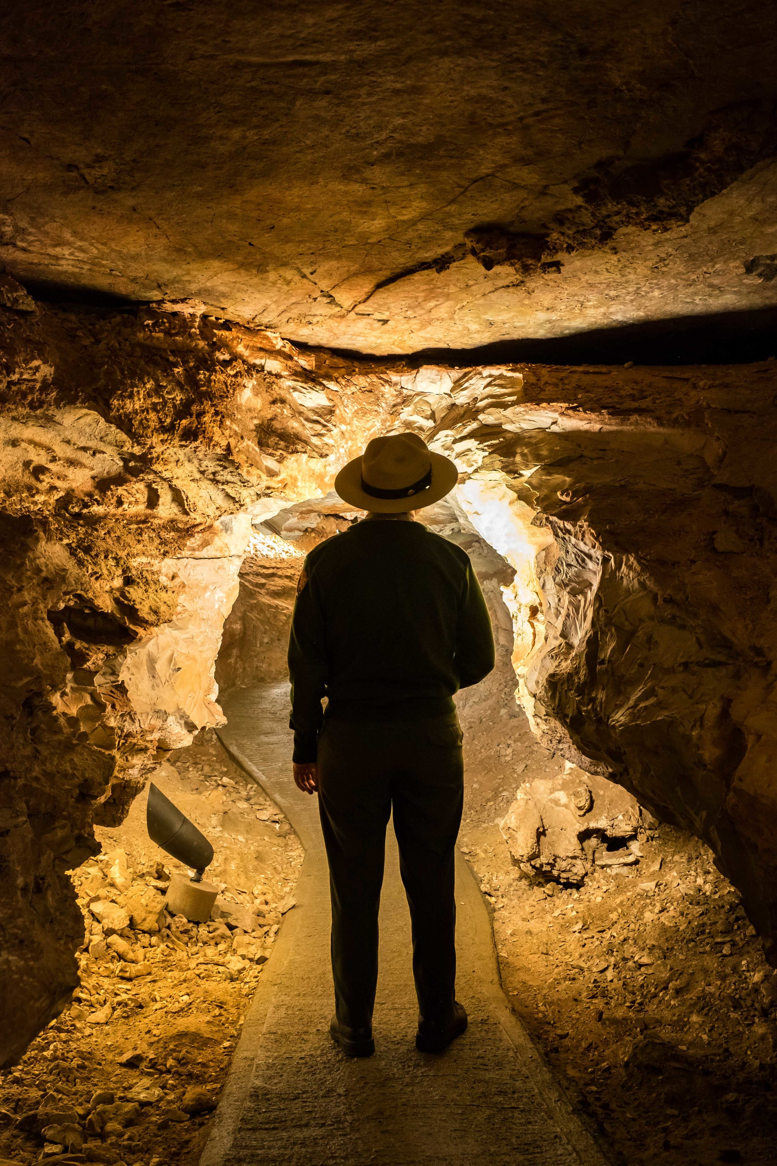 A great ranger-led private tour really allowed us to explore this cave in depth.