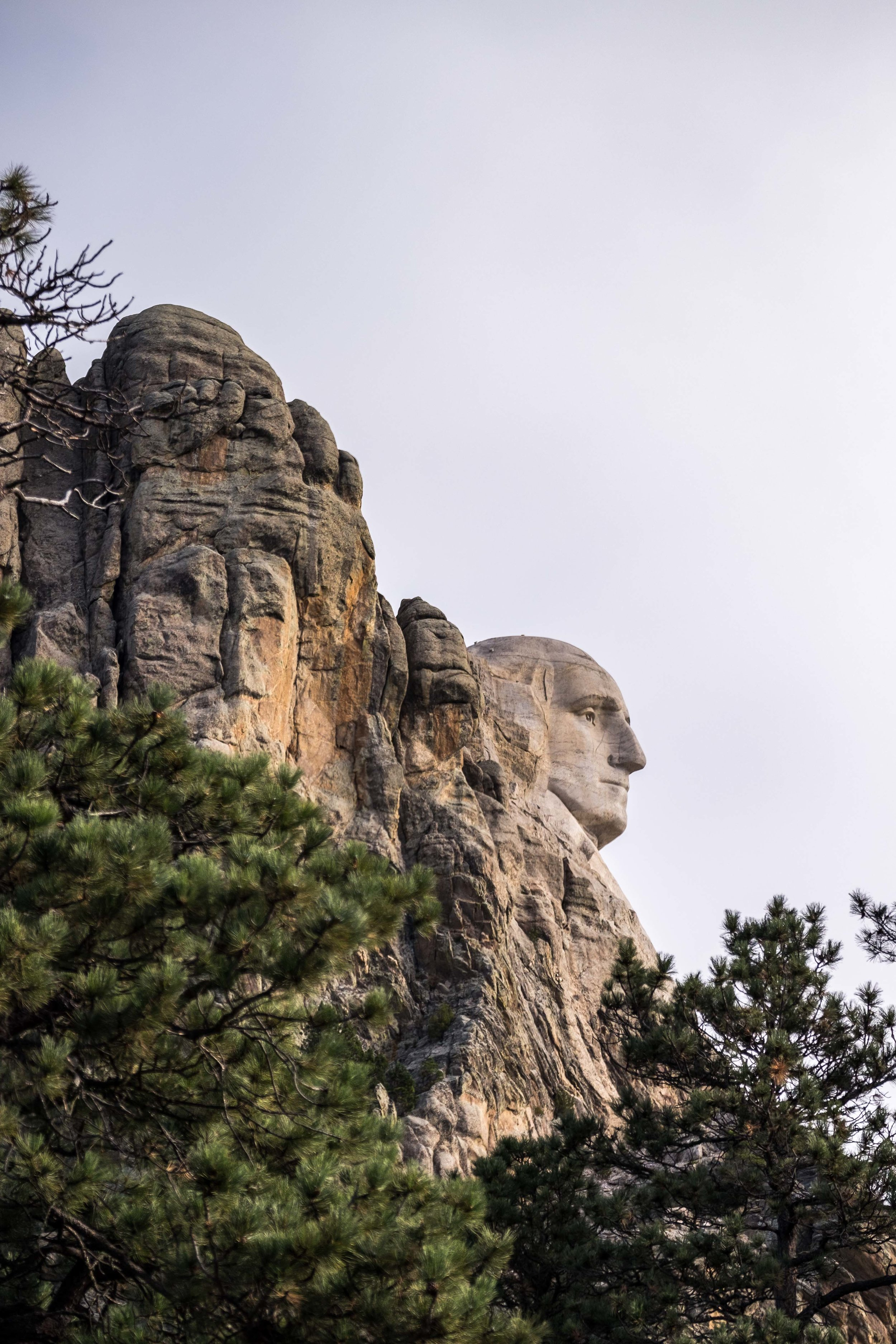 Mount Rushmore National Memorial in South Dakota.