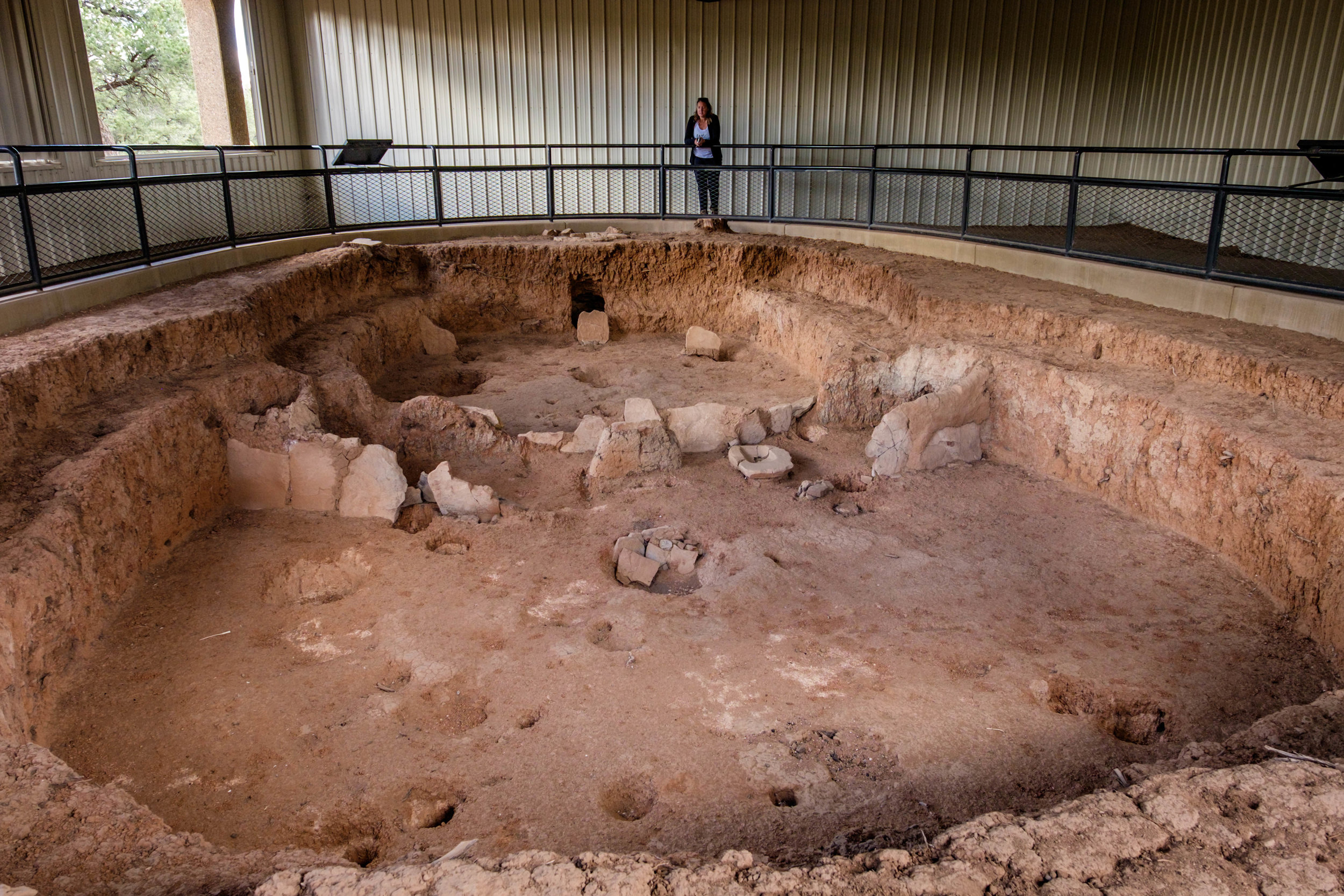 Its so strange to stand at a dwelling that could date back 1000 years.