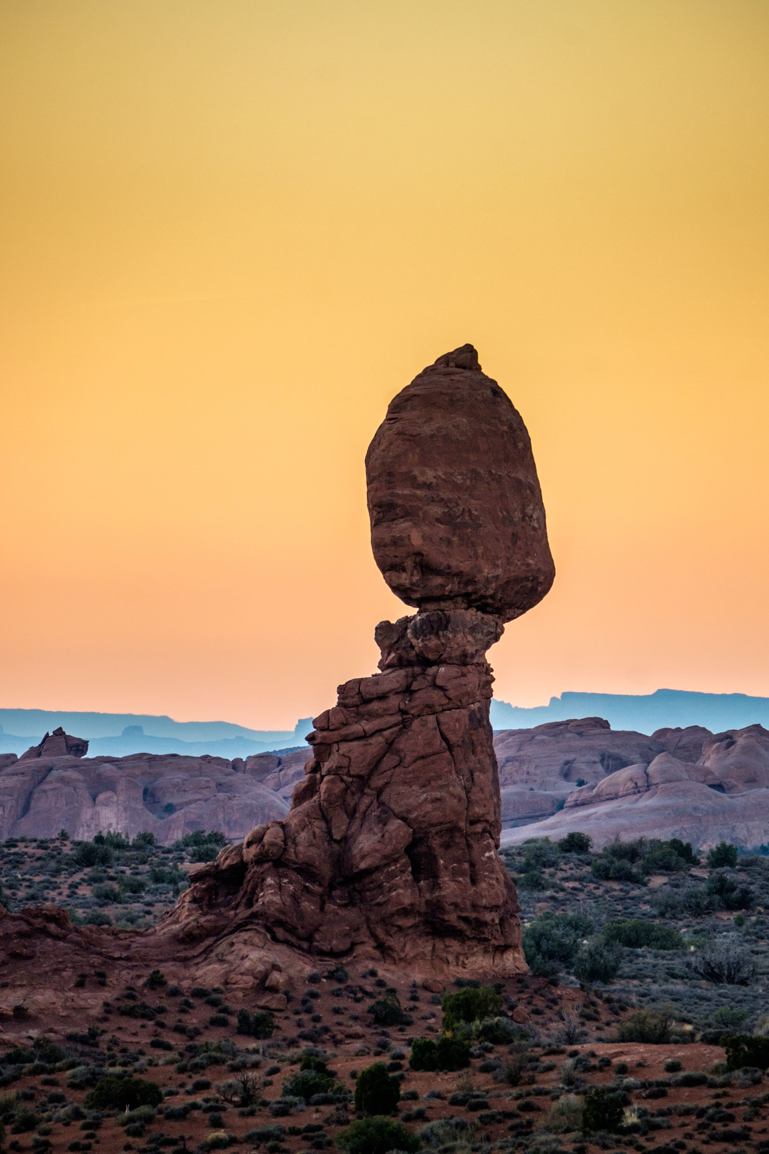 Balanced Rock is also a really great place to catch the sunset.