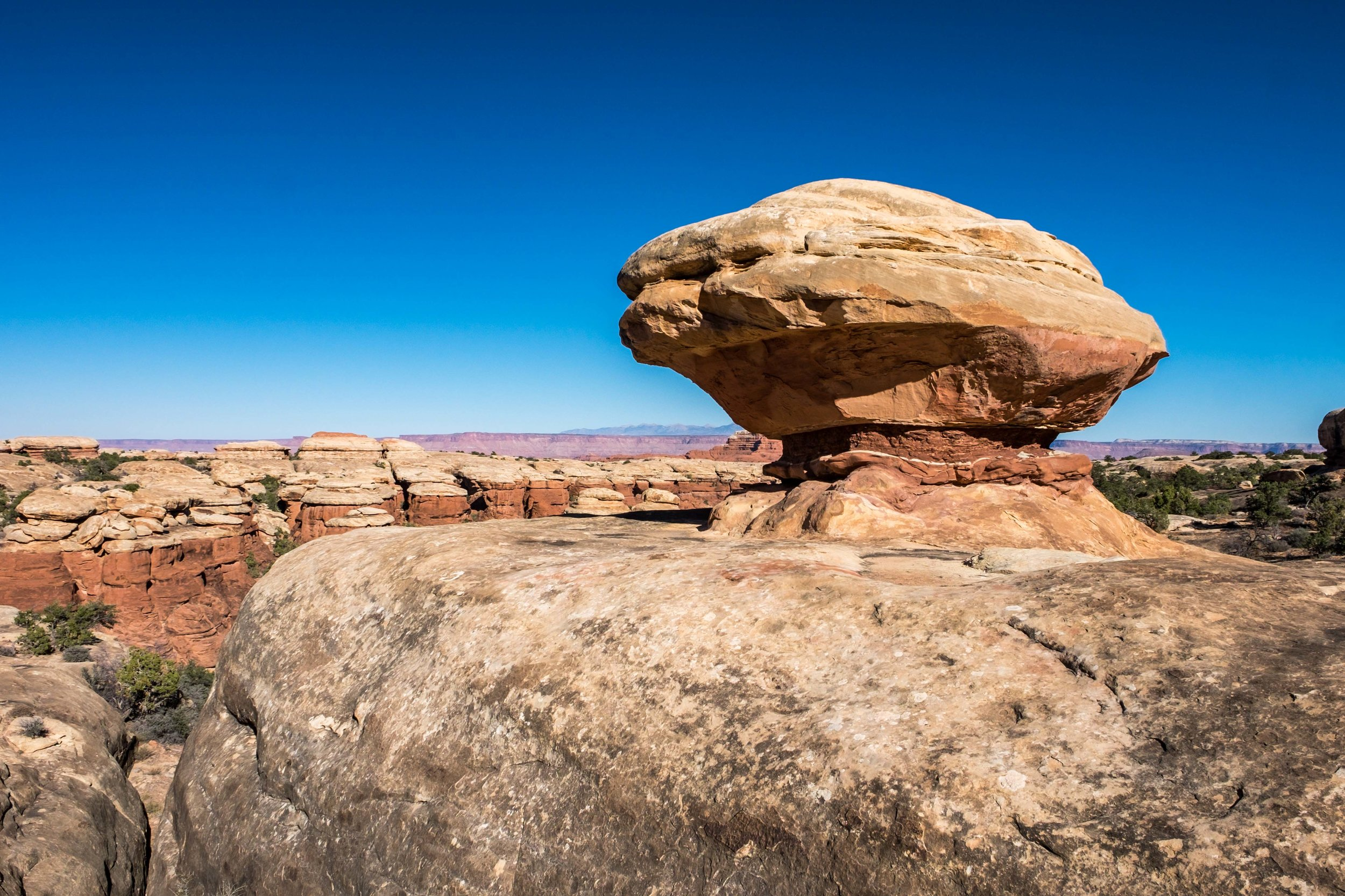 Quite the strange balanced rock.