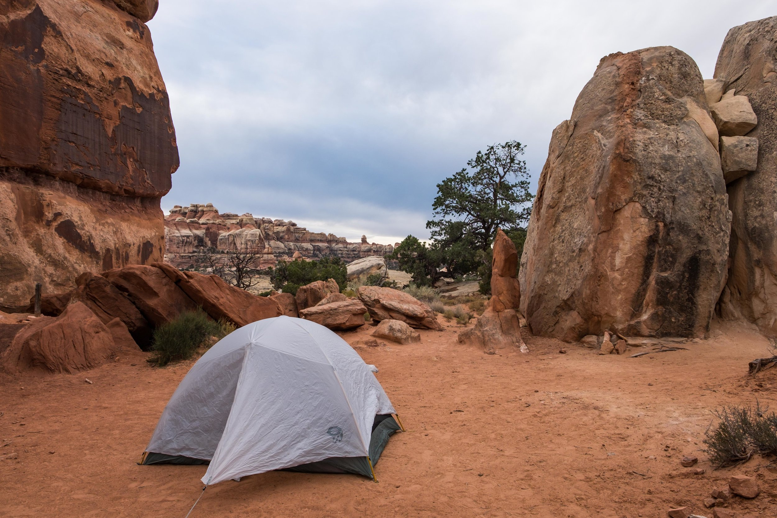 CP1 (Chesler Park 1) is among our favorite campsites of the year, with stunning views in all directions that are completely unique to one another.