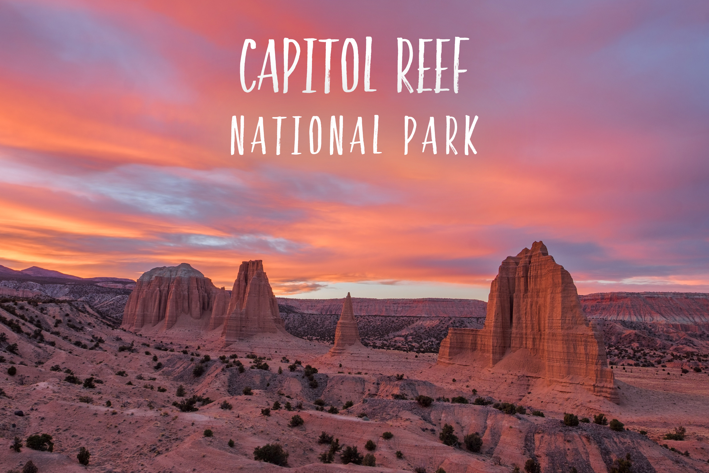 Park 52/59: Capitol Reef National Park in Utah