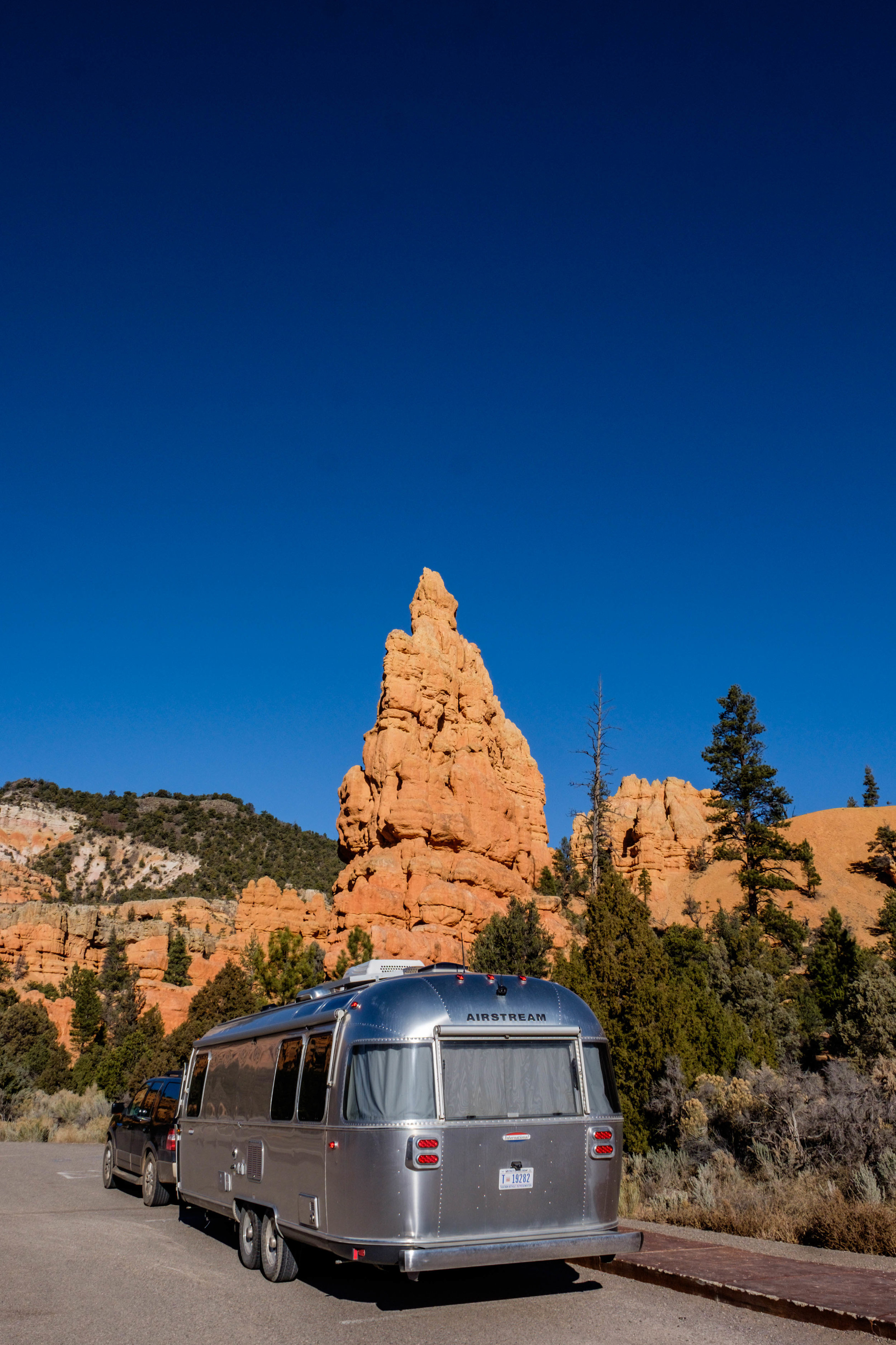 Wally at home in the red rock wonderland of Bryce Canyon!