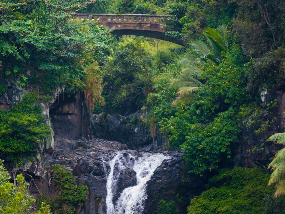 The Road to Hana on the island of Maui in the Islands of  Hawai'i  is a total dreamscape!
