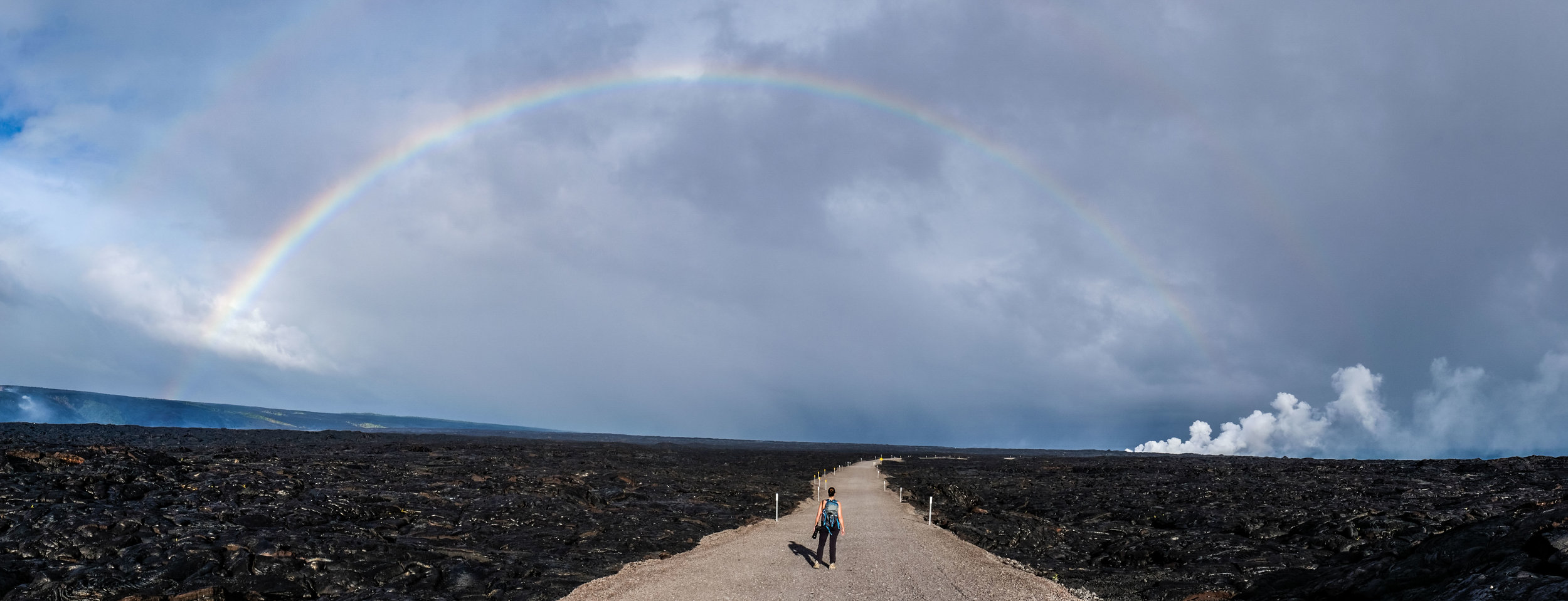 """The state of Hawai'i is known as the """"land of rainbows"""" for a reason—they pop up anywhere, at anytime in this land perpetually adorned by sun and water."""