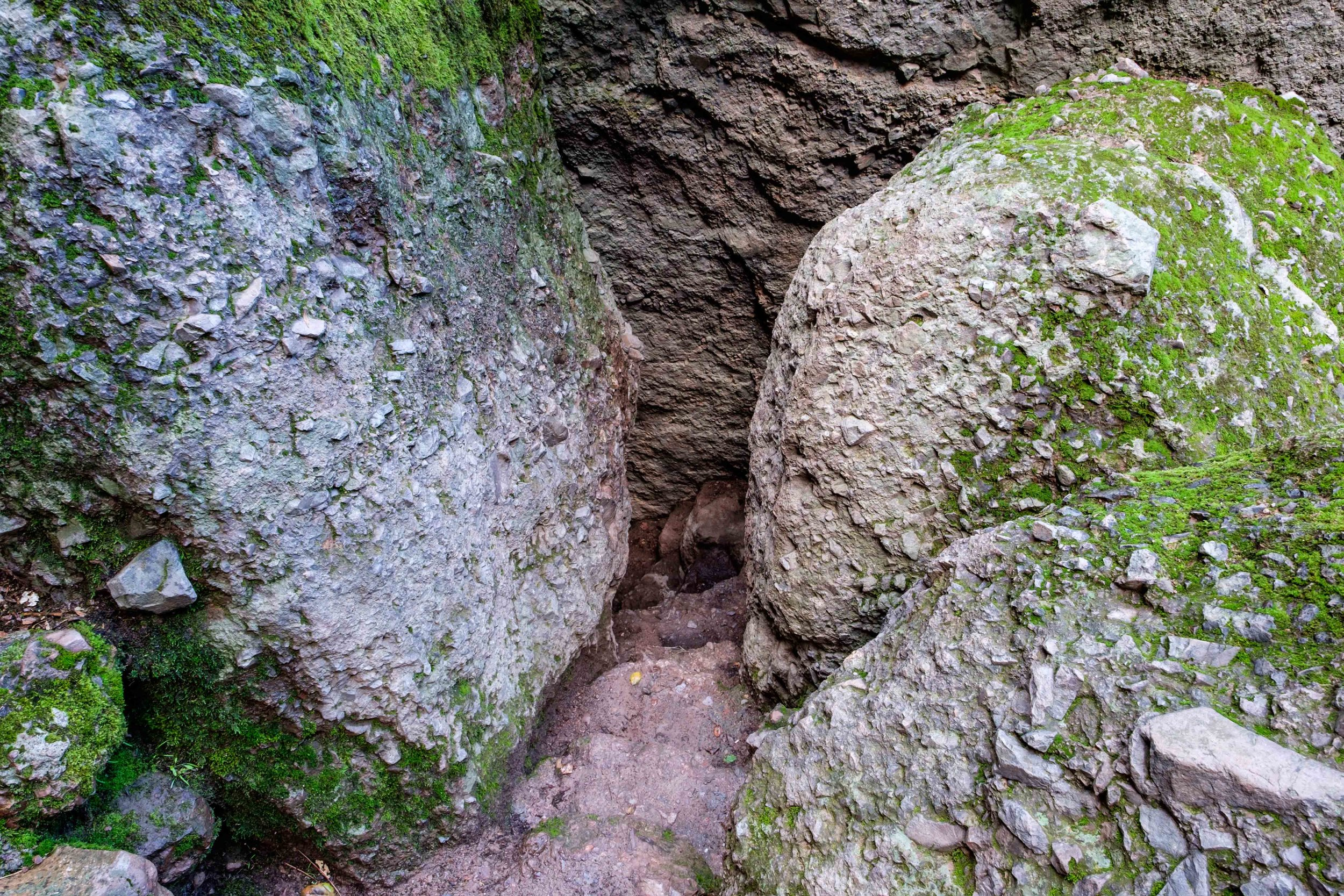Typical cave trail.